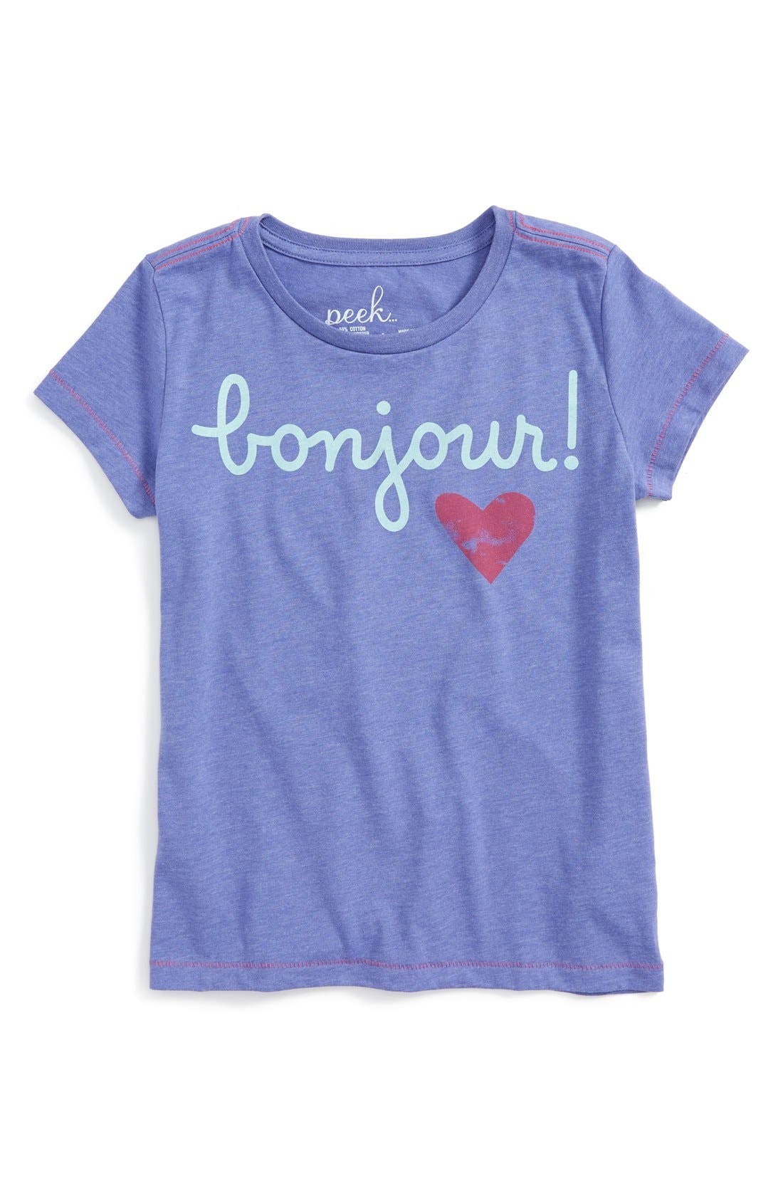 Merry & Bright Graphic Tee,                             Main thumbnail 2, color,