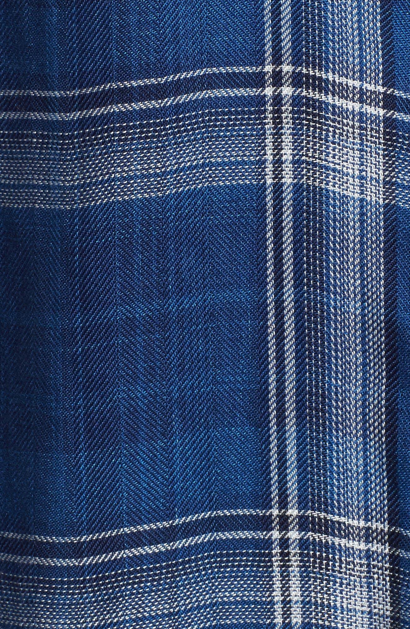 Hunter Plaid Shirt,                             Alternate thumbnail 585, color,