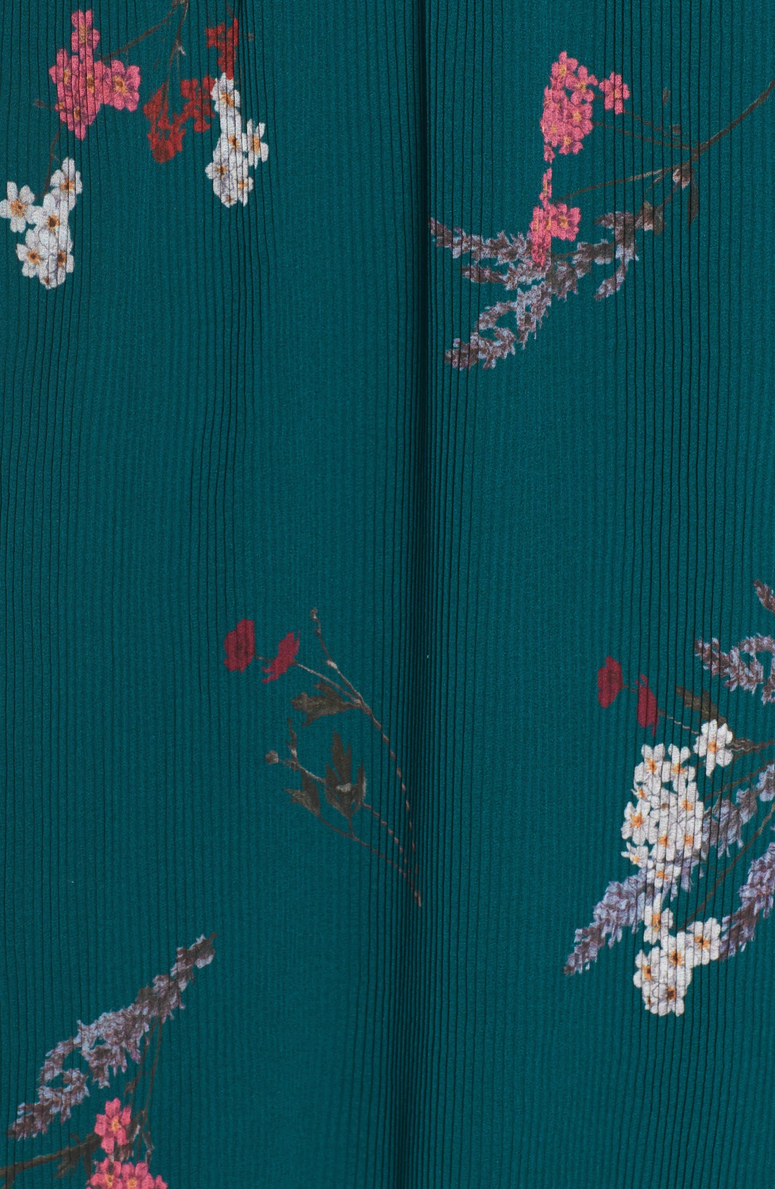 Night Fall Midi Dress,                             Alternate thumbnail 6, color,                             310