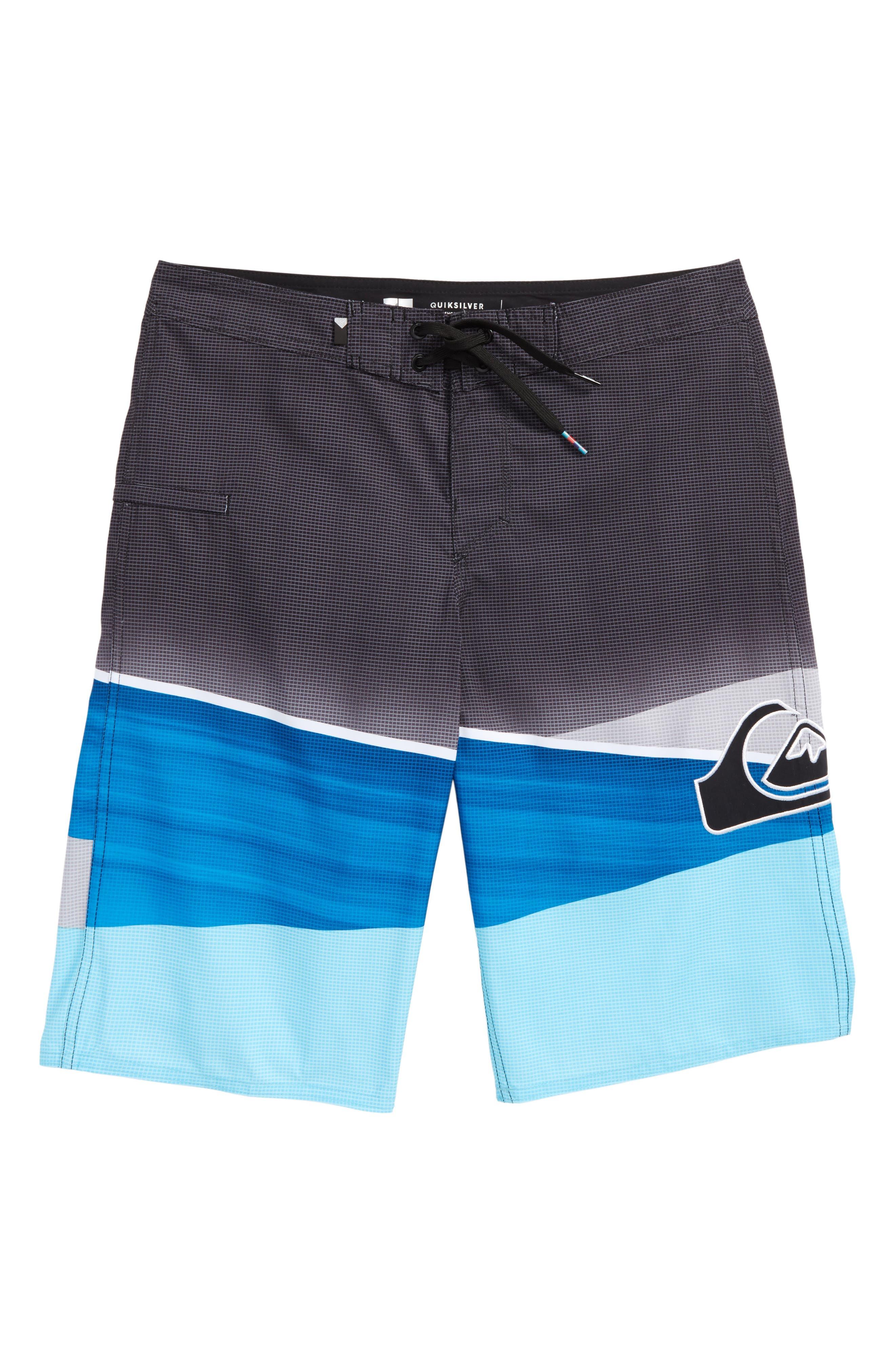 Slash Logo Board Shorts,                         Main,                         color, 422