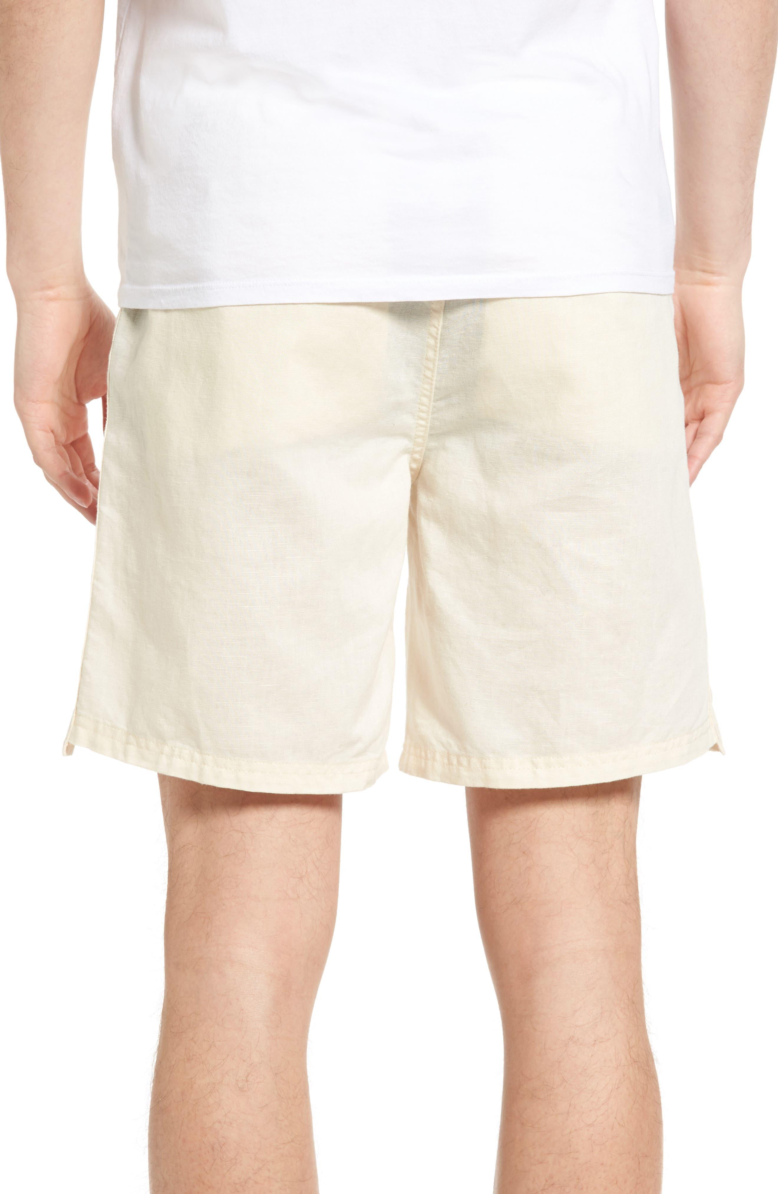 Omni Linen Blend Shorts,                             Alternate thumbnail 6, color,