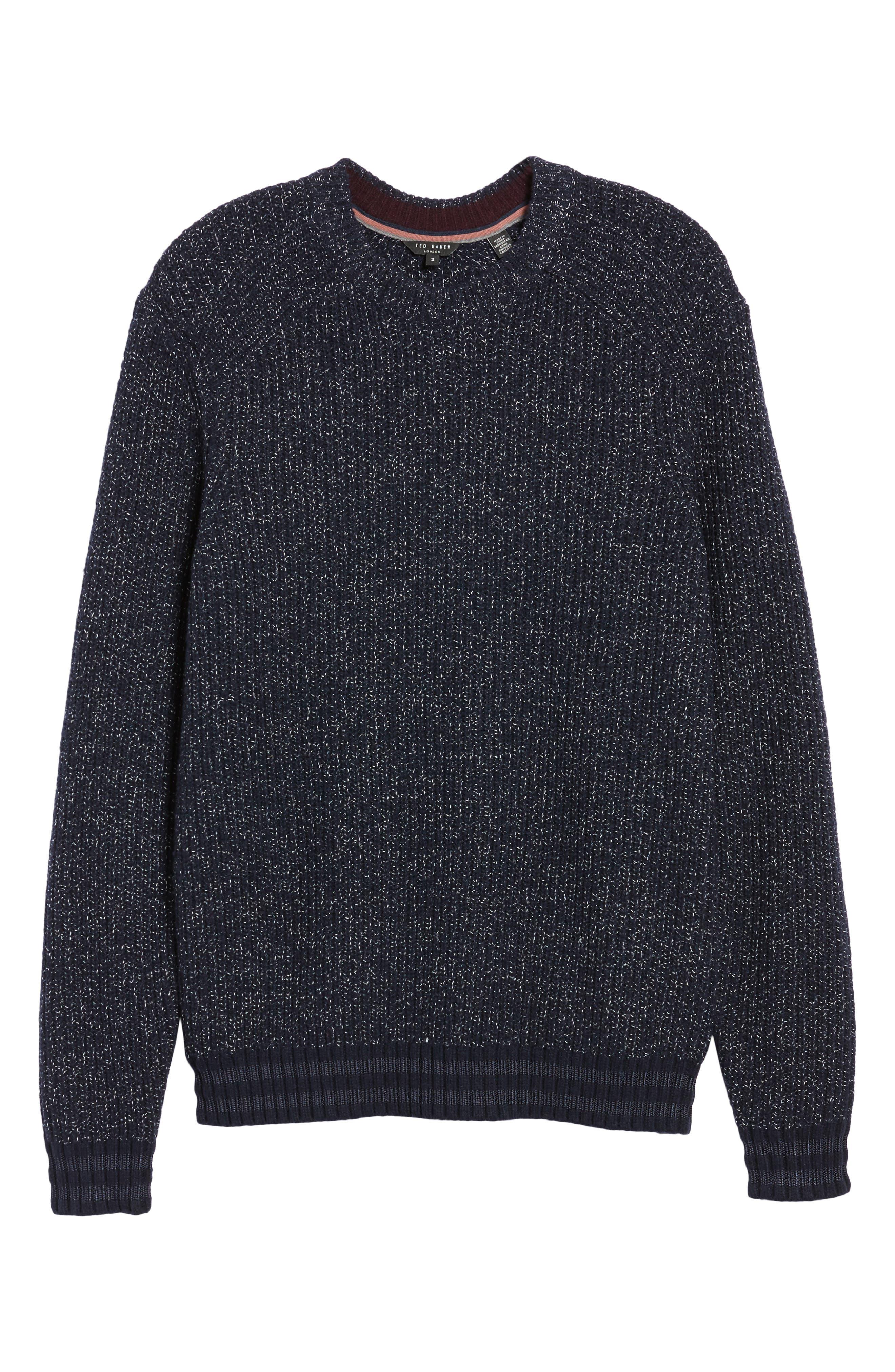 Textured Raglan Sweater,                             Alternate thumbnail 6, color,                             410