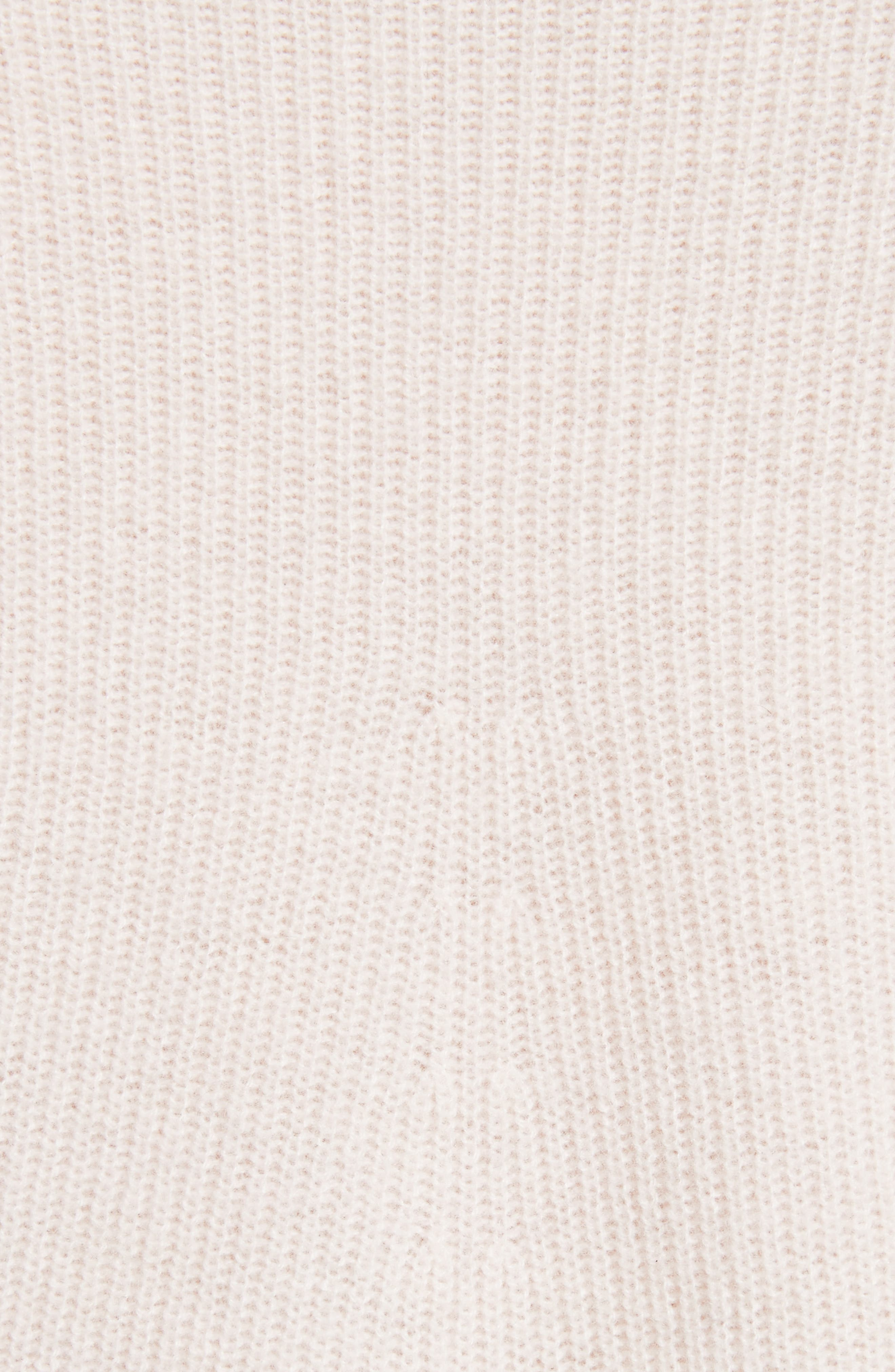 Ribbed Cashmere Sweater,                             Alternate thumbnail 14, color,