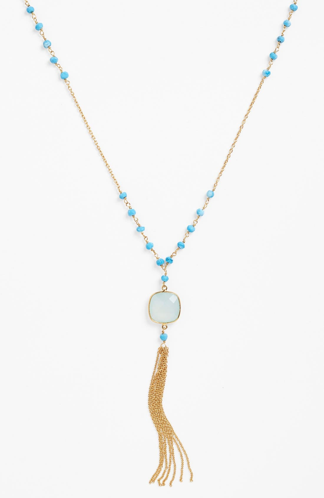 Beaded Y-Necklace,                             Alternate thumbnail 2, color,                             710
