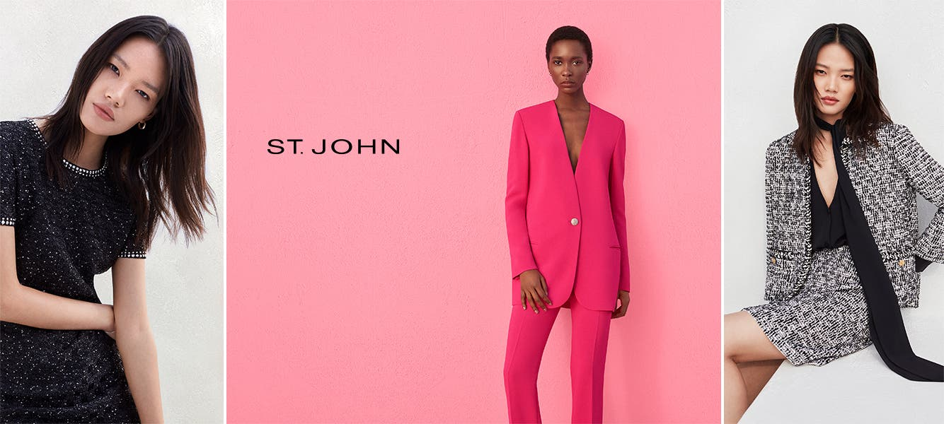 Spring 2020: discover the full St. John collection.