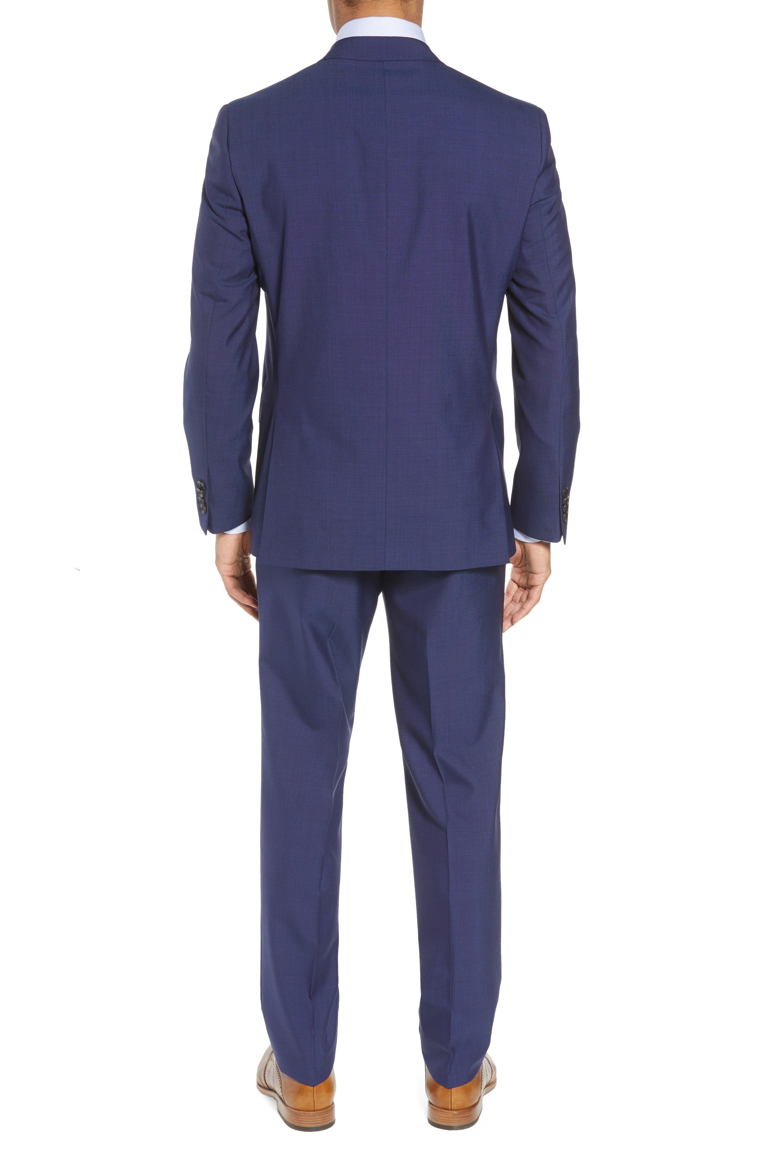 Jay Trim Fit Suit,                             Alternate thumbnail 2, color,                             BLUE