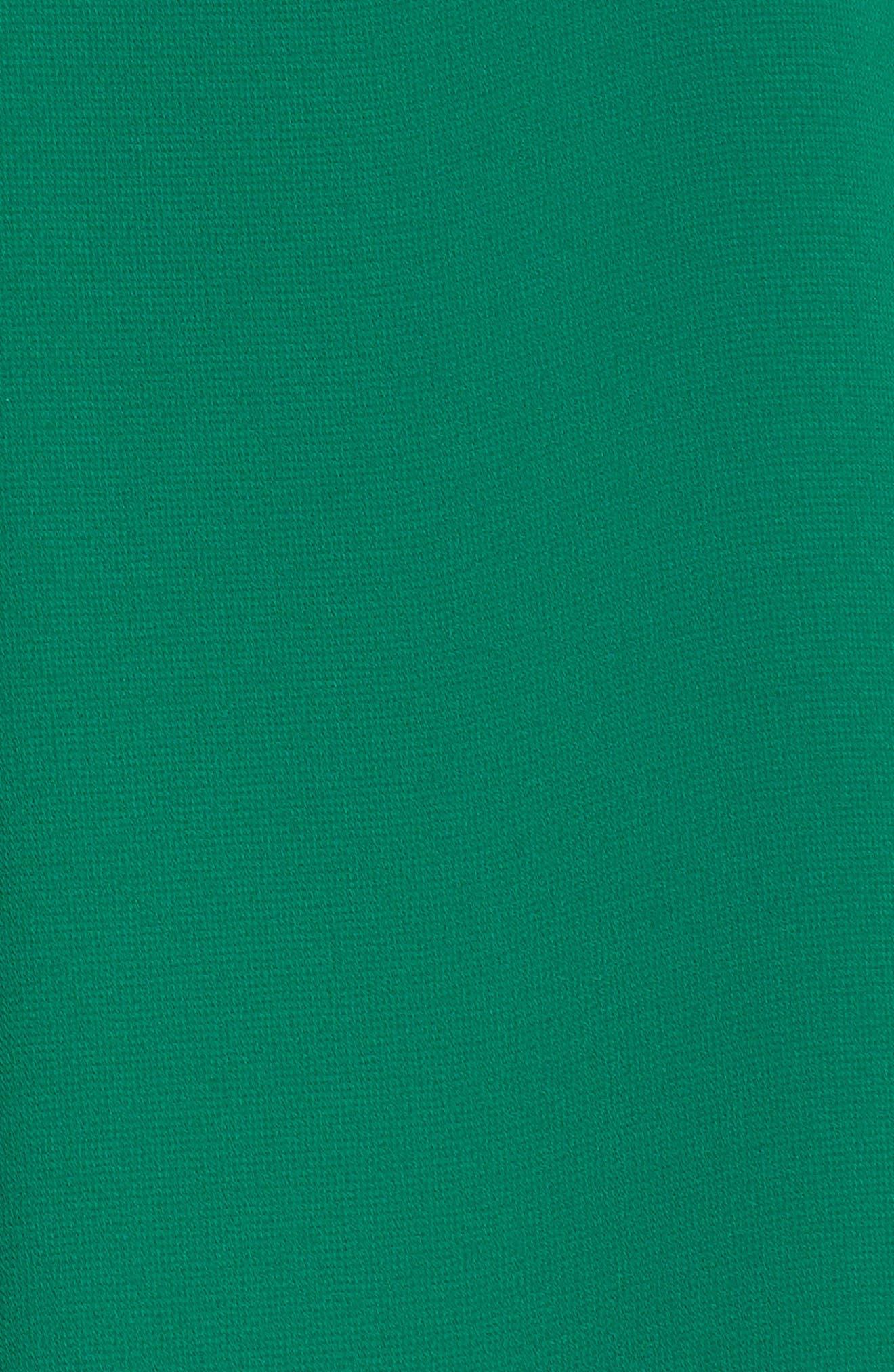 Soufflé V-Neck Chiffon Dress,                             Alternate thumbnail 6, color,                             310