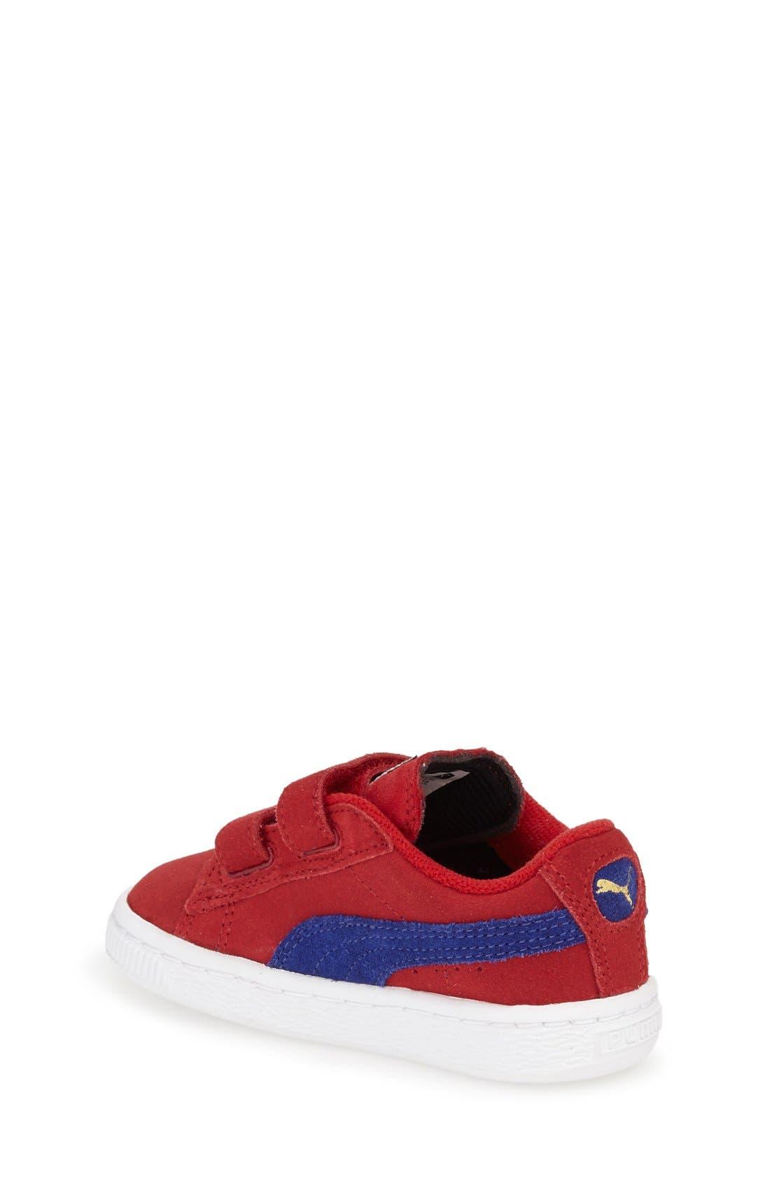 Suede Sneaker,                             Alternate thumbnail 18, color,