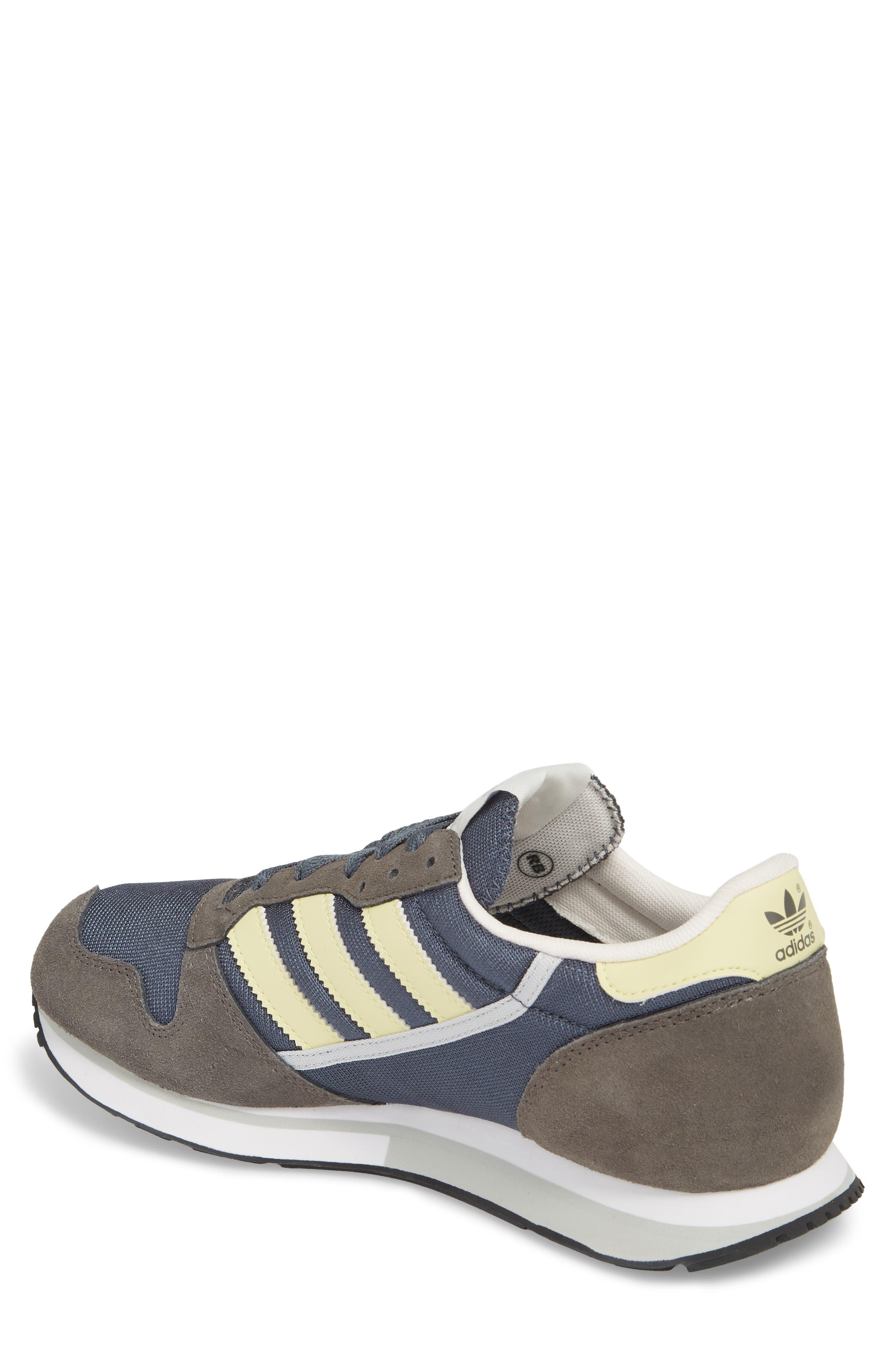 ZX 280 SPZL Sneaker,                             Alternate thumbnail 2, color,                             WHITE/ GREY/ WHITE