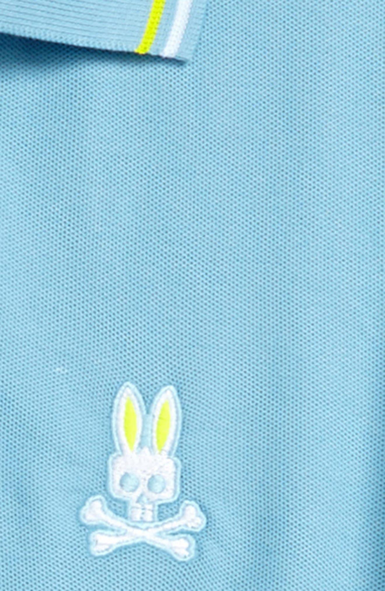 Neon Bunny Cotton Polo,                             Alternate thumbnail 8, color,