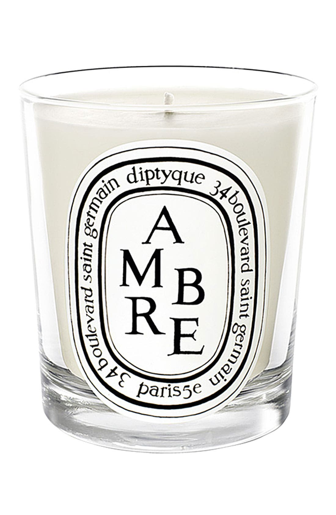 Ambre Scented Candle,                             Main thumbnail 1, color,                             NO COLOR