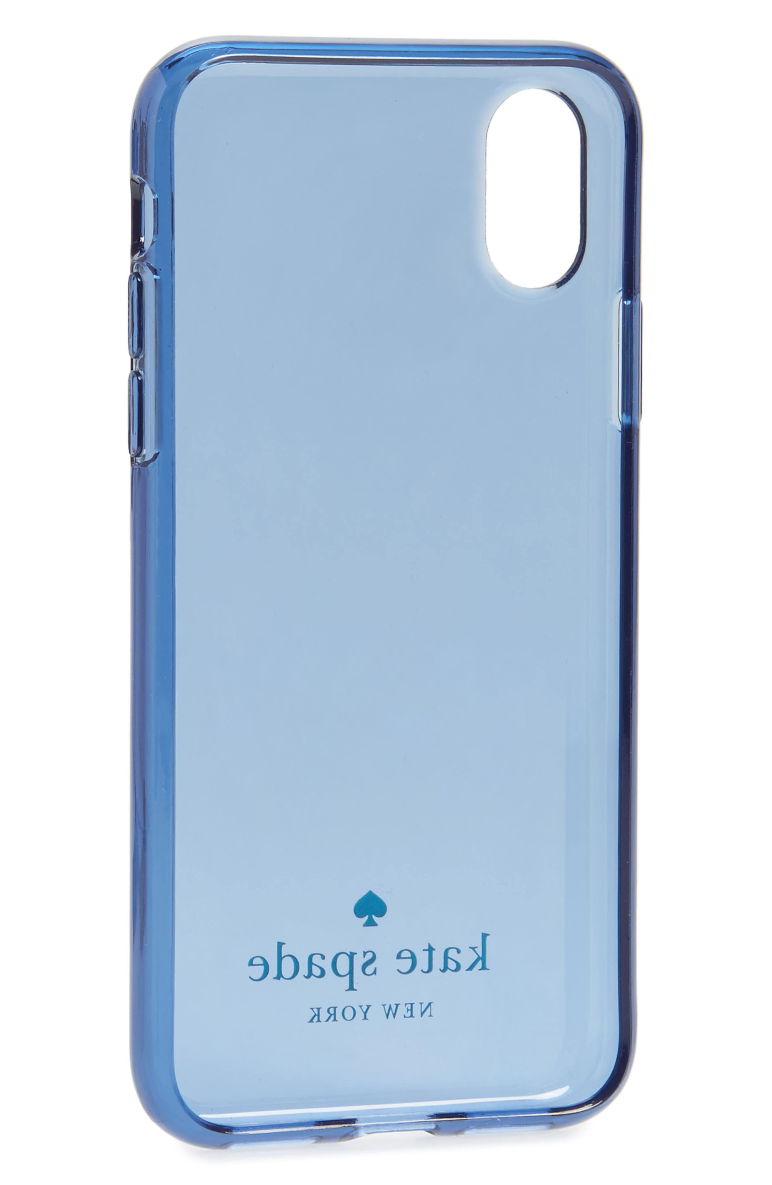 tinted iPhone X case,                             Alternate thumbnail 4, color,