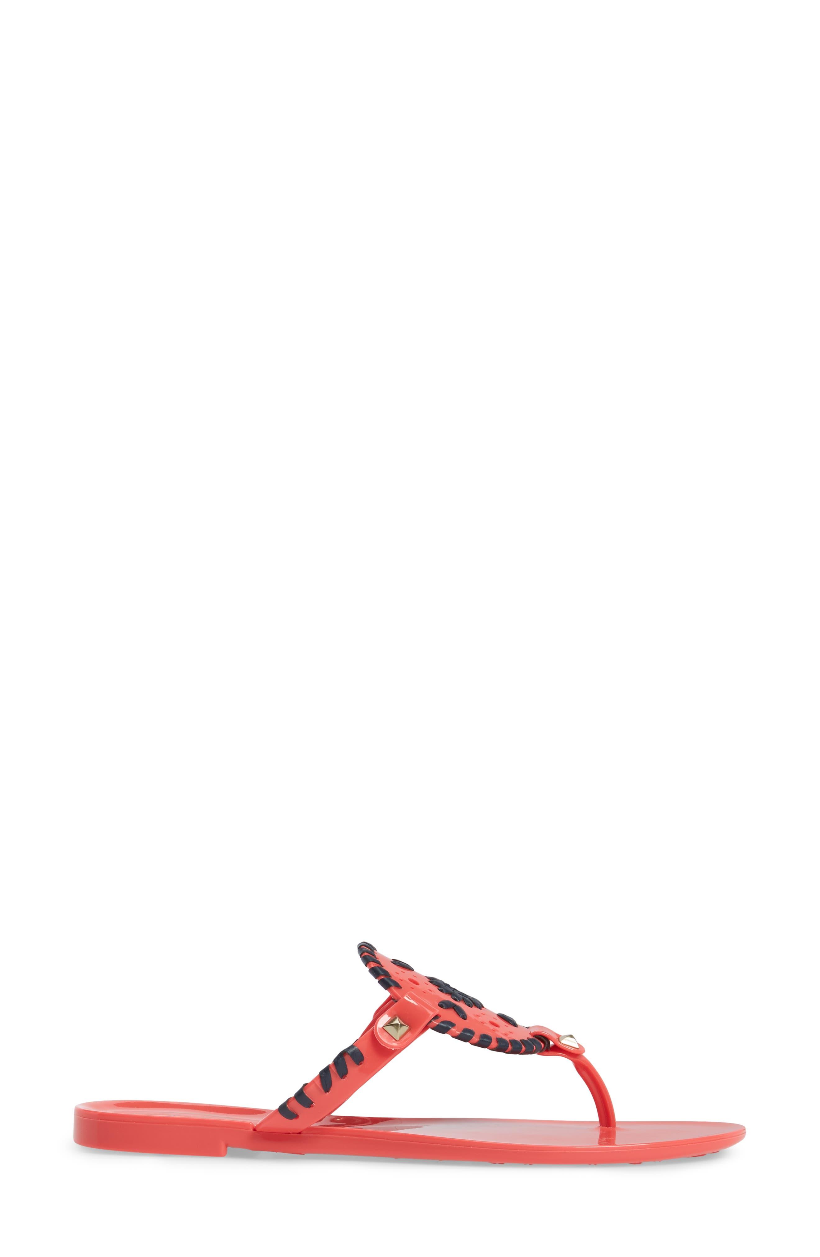 'Georgica' Jelly Flip Flop,                             Alternate thumbnail 92, color,