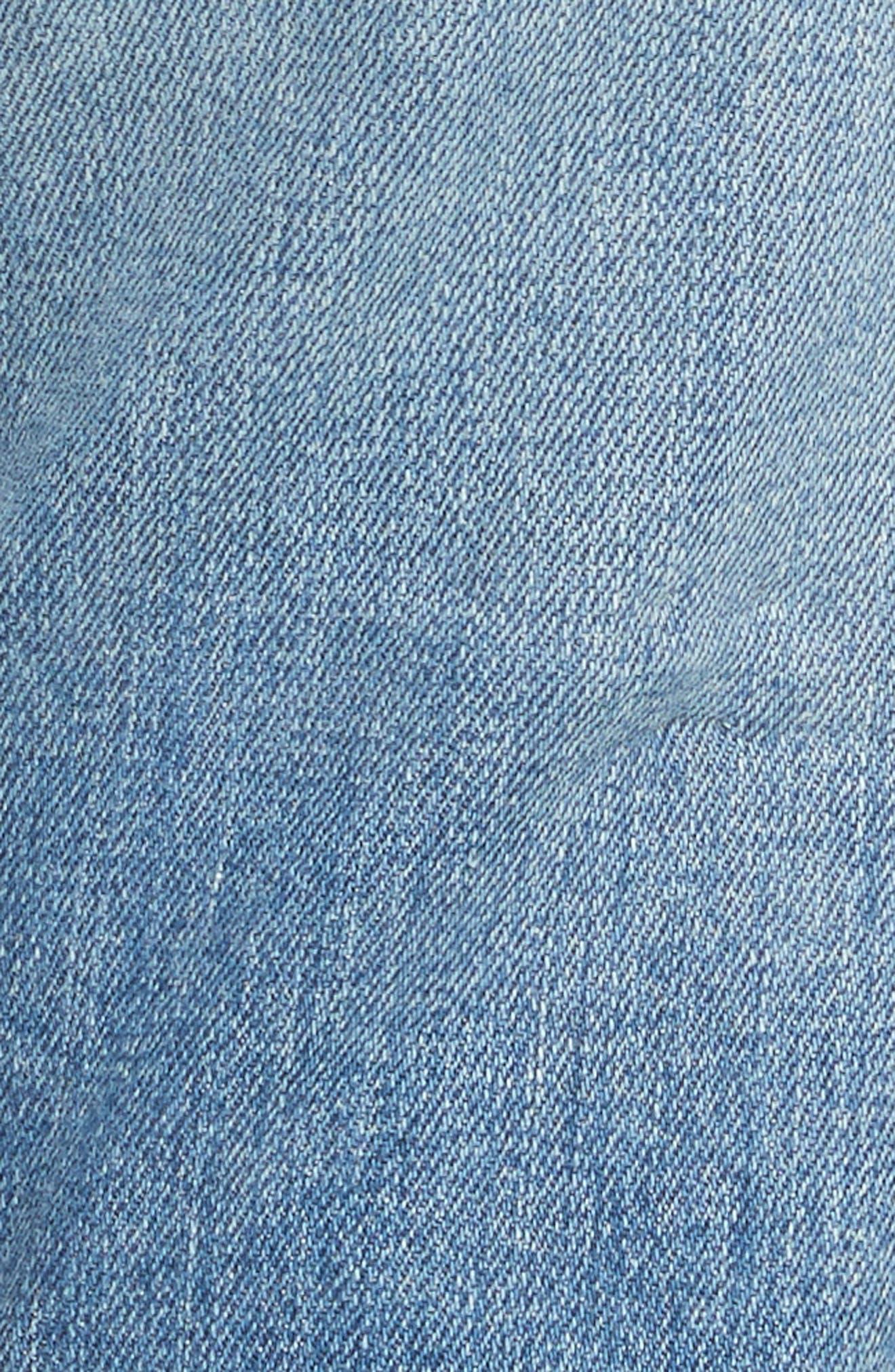 PSWL Straight Leg Jeans,                             Alternate thumbnail 5, color,                             428