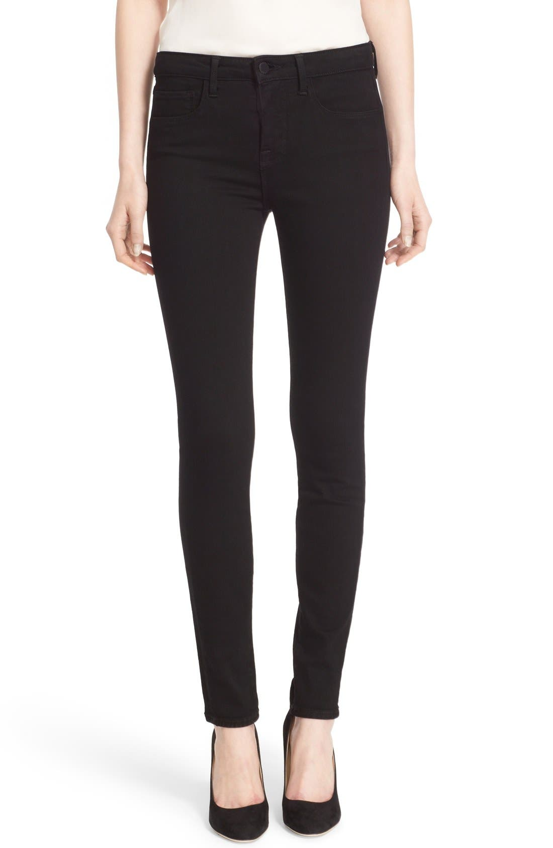 Marguerite Skinny Jeans,                         Main,                         color, 001