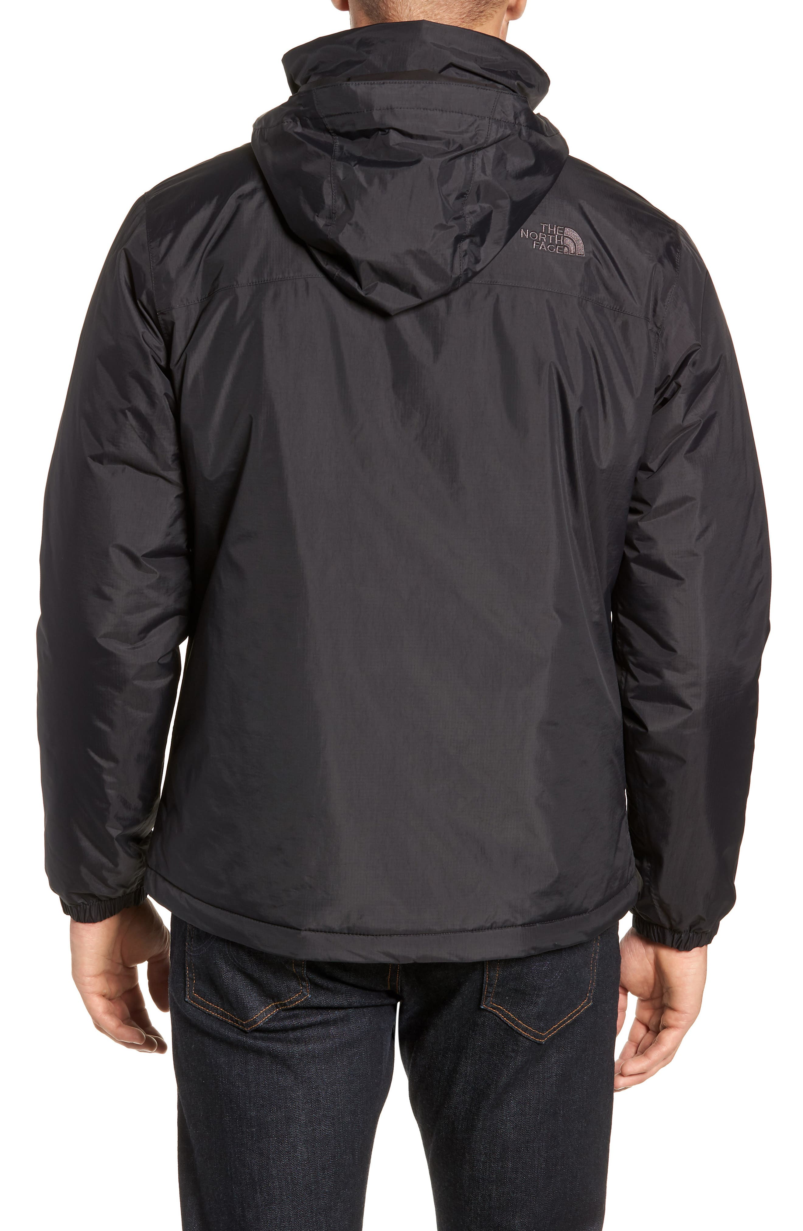Resolve Waterproof Jacket,                             Alternate thumbnail 2, color,                             TNF BLACK