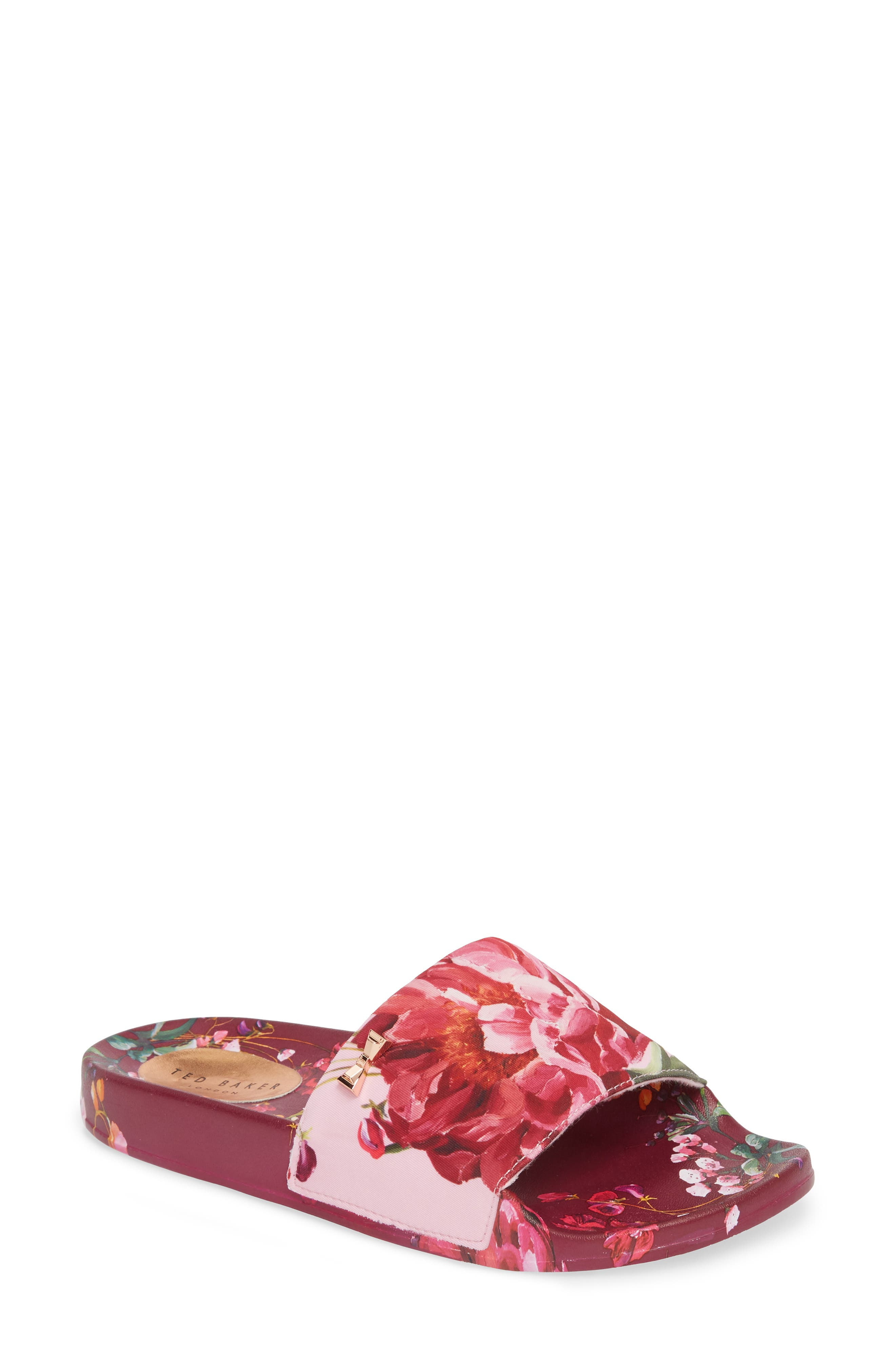 Qarla Slide Sandal,                             Main thumbnail 1, color,                             650
