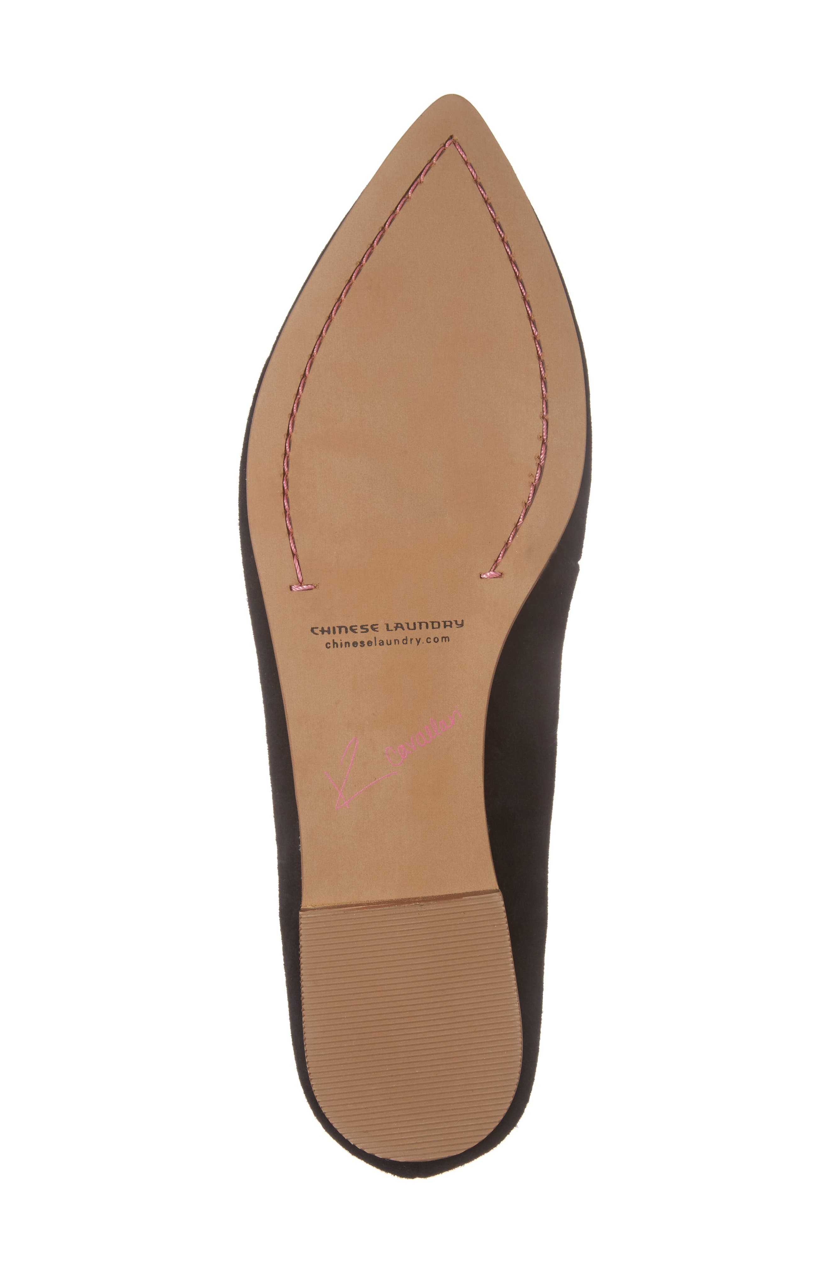 Cambrie Loafer Flat,                             Alternate thumbnail 6, color,                             001