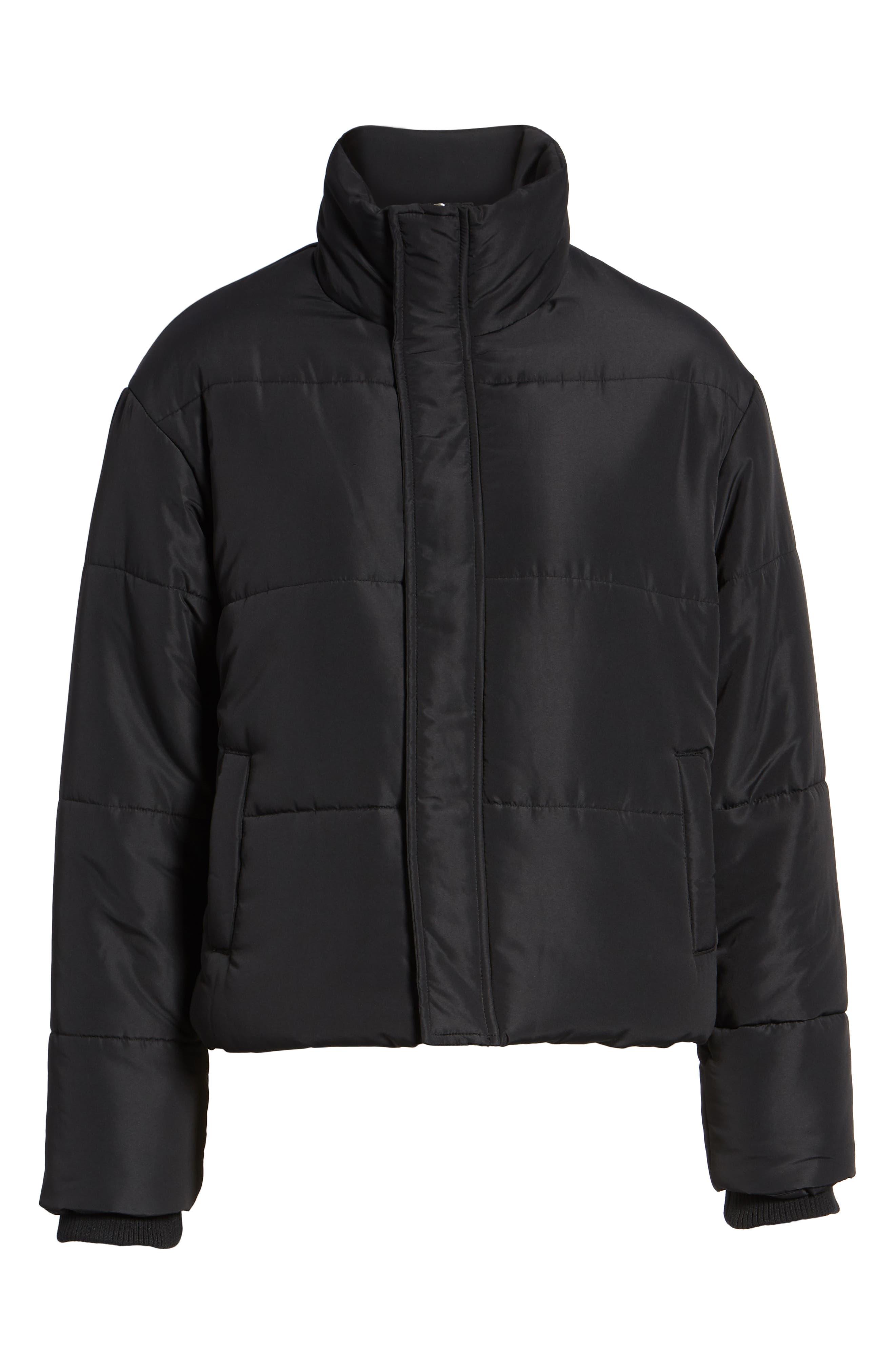 Eezeh Puffer Coat,                             Alternate thumbnail 6, color,                             001