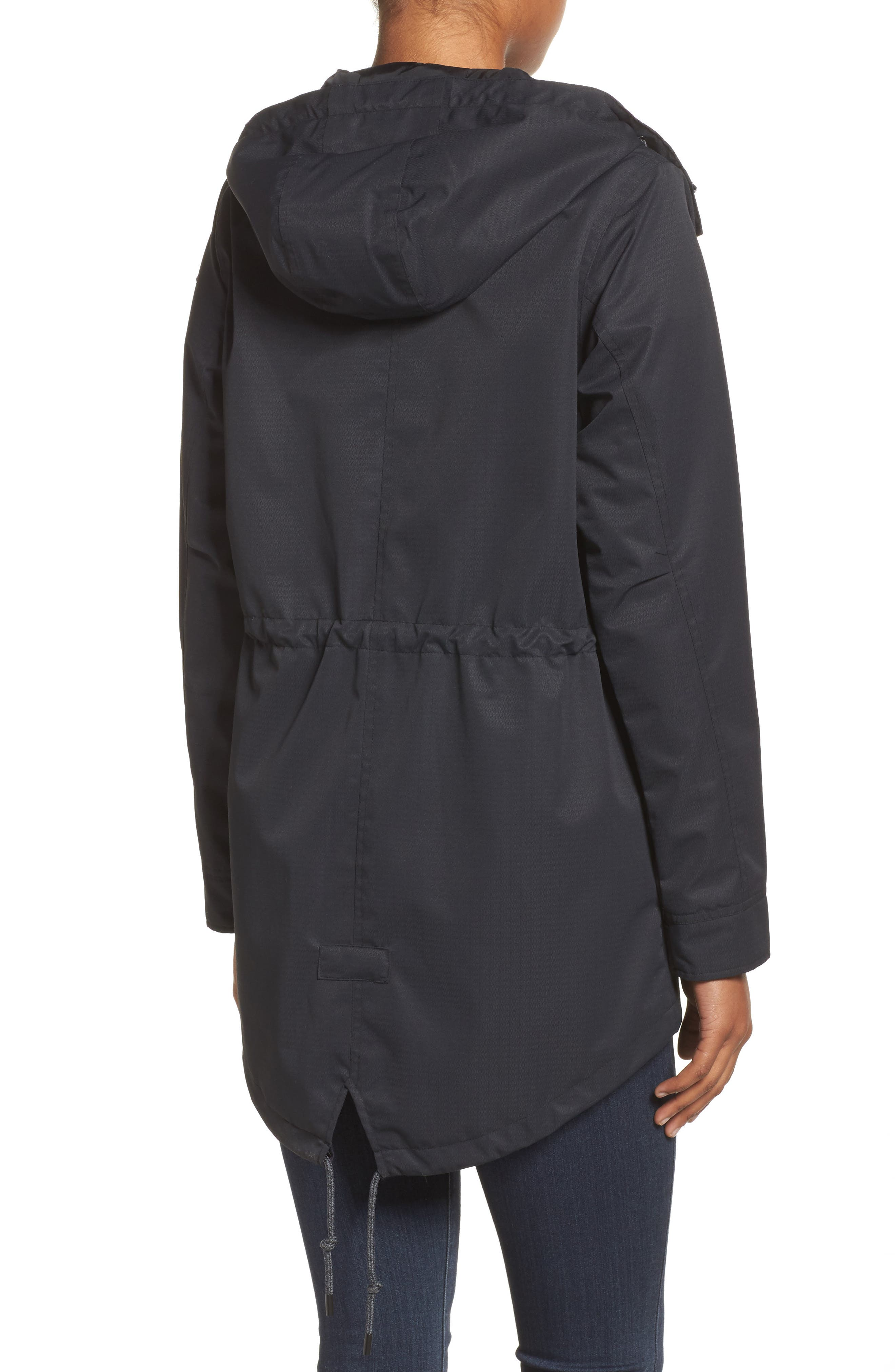 Sadie Waterproof Hooded Jacket,                             Alternate thumbnail 2, color,                             001
