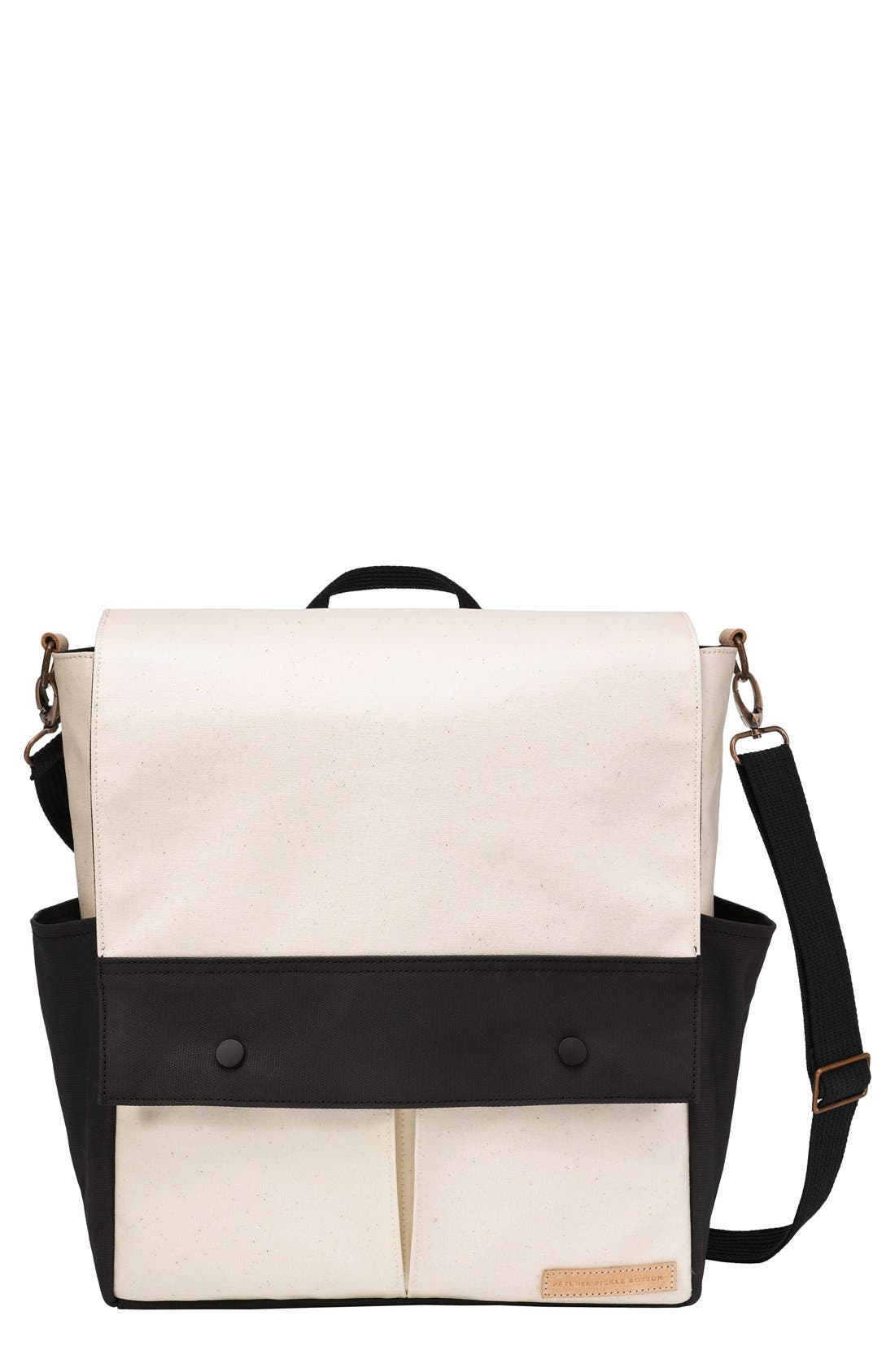 Pathway Backpack Diaper Tote,                         Main,                         color, BIRCH/ BLACK