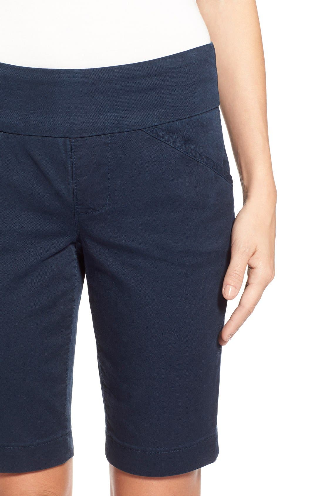 'Ainsley' Slim Bermuda Shorts,                             Alternate thumbnail 39, color,