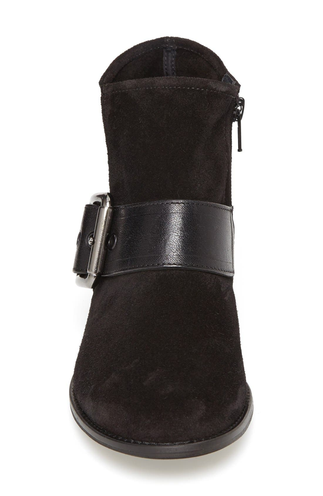 PAUL GREEN,                             'Bixby' Leather Bootie,                             Alternate thumbnail 2, color,                             009