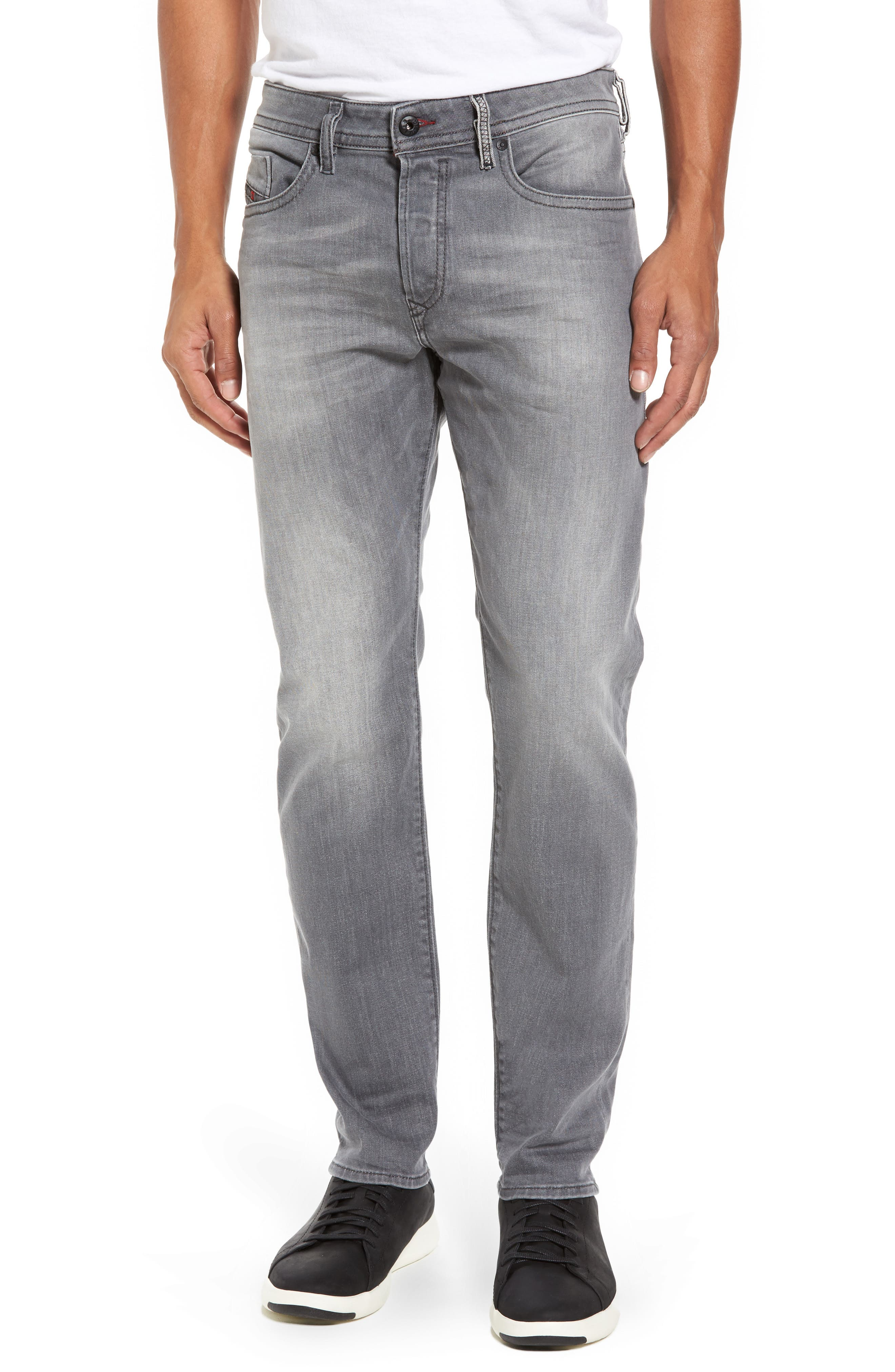 Buster Slim Straight Leg Jeans,                         Main,                         color, 020