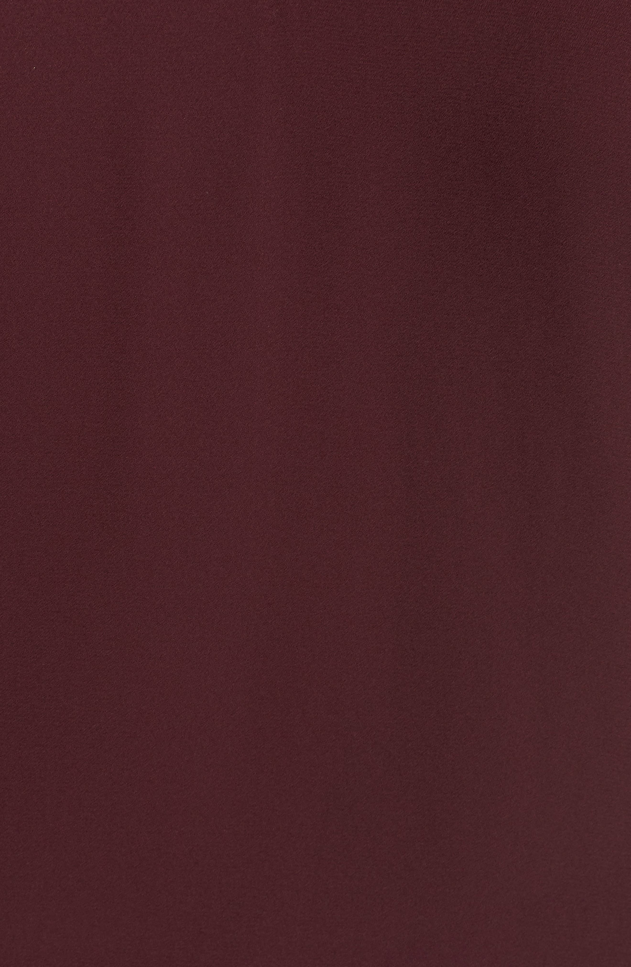 Lace Bell Sleeve Top,                             Alternate thumbnail 6, color,                             BURGUNDY STEM