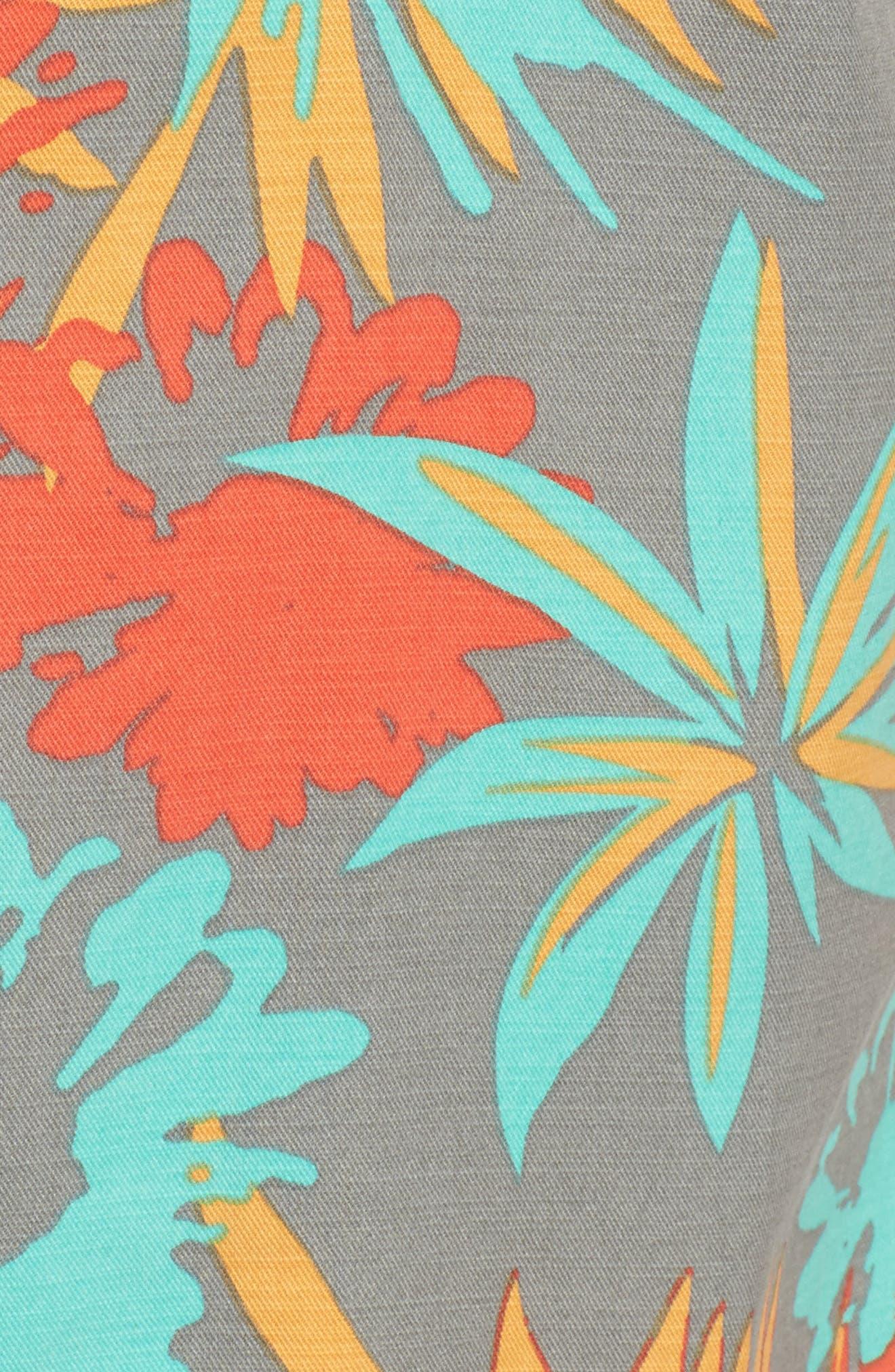 Desert Trip Print Shirt,                             Alternate thumbnail 5, color,                             017