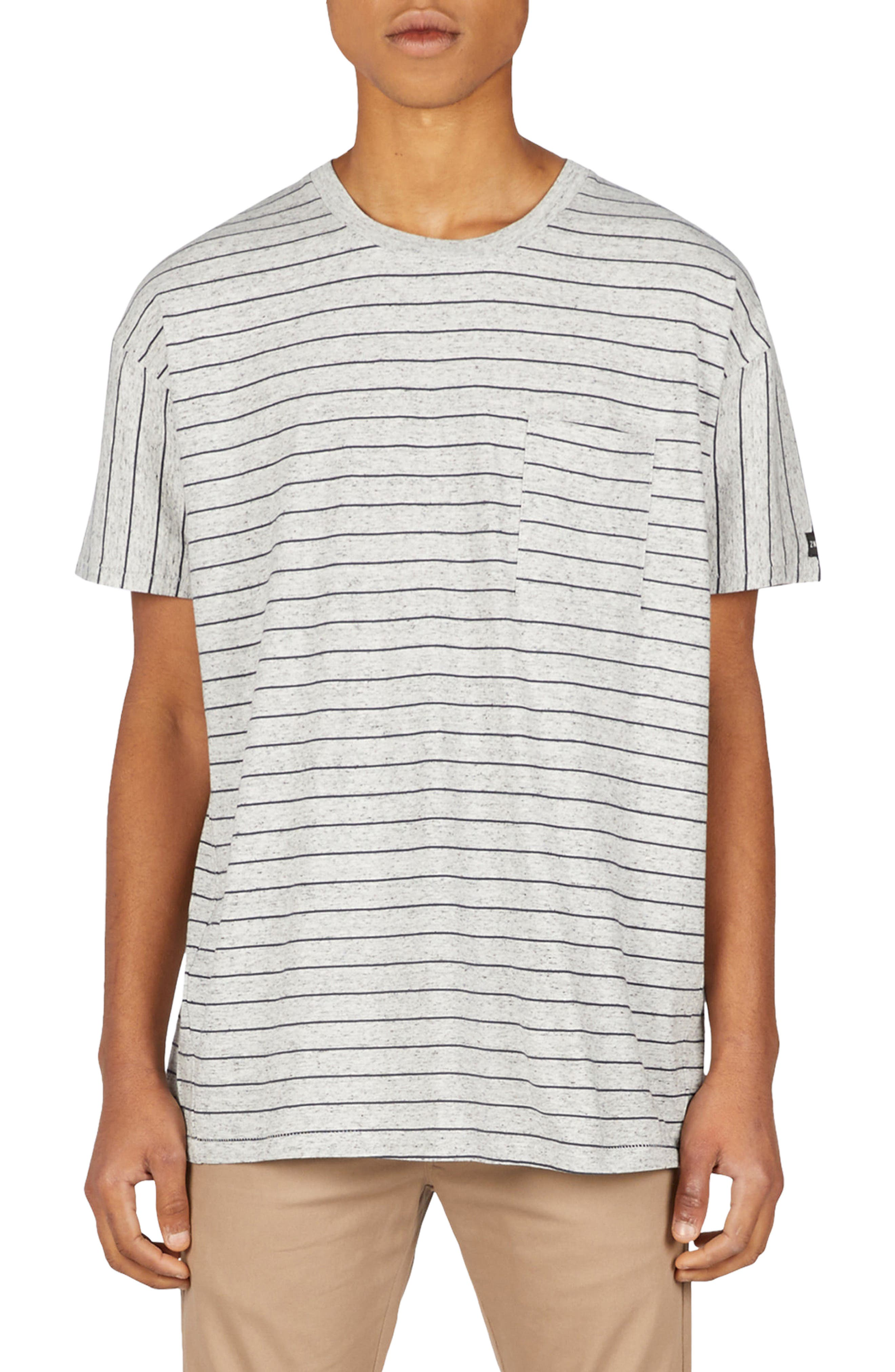 ZANEROBE,                             Stripe Rugger T-Shirt,                             Main thumbnail 1, color,                             050