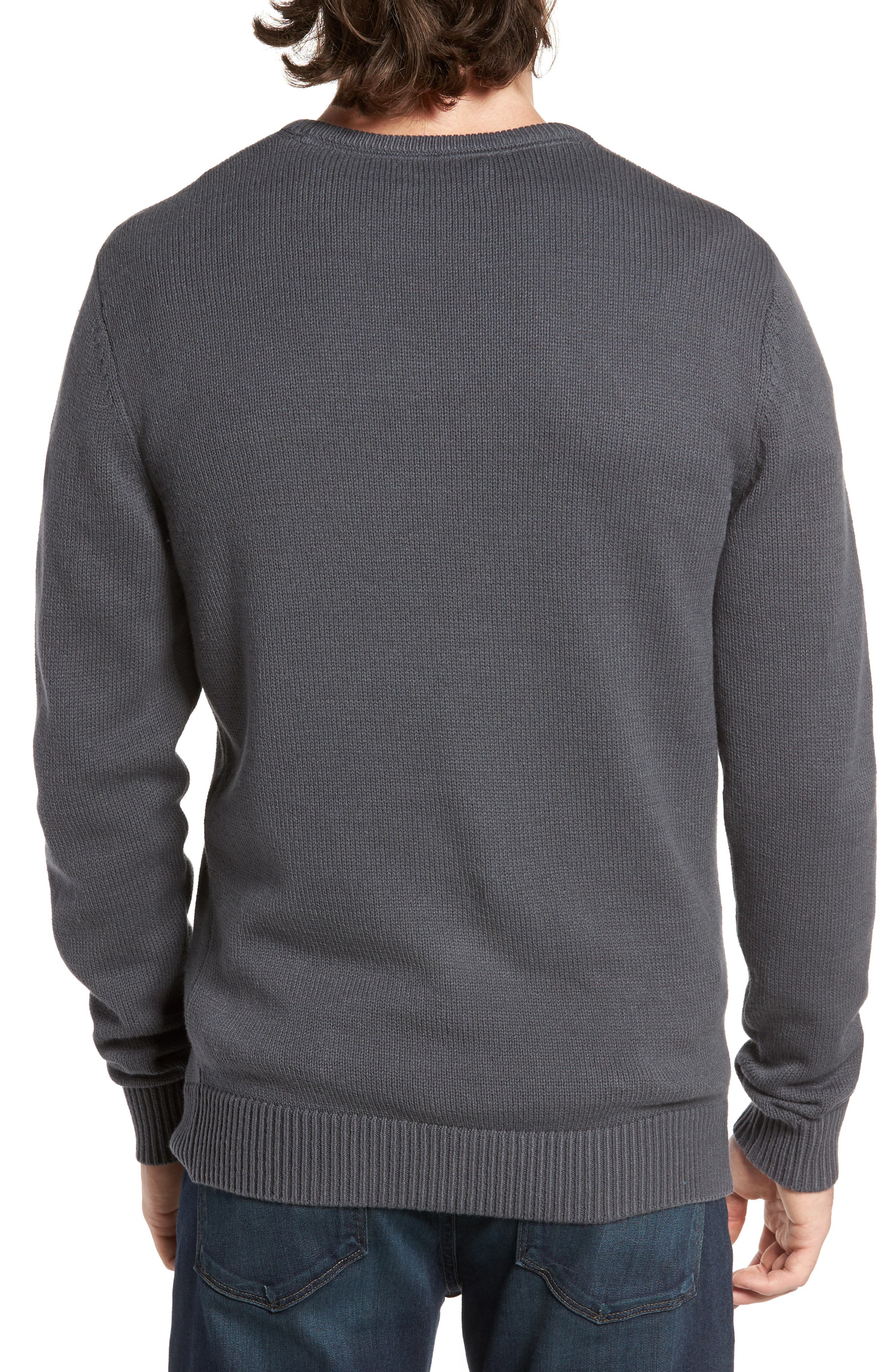 Tonal Motif Sweater,                             Alternate thumbnail 3, color,
