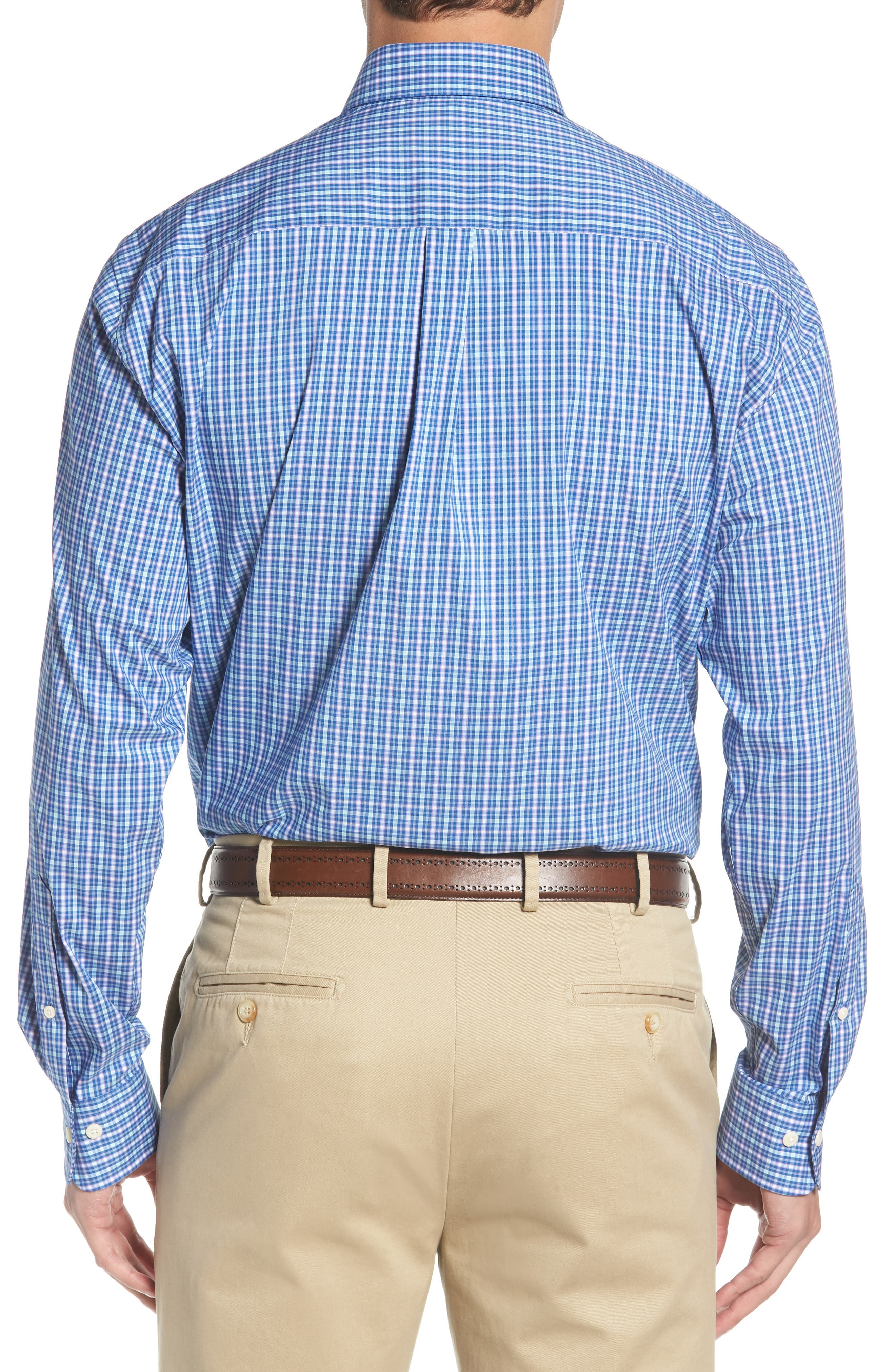 Crown Comfort Finch Multicheck Sport Shirt,                             Alternate thumbnail 2, color,                             422