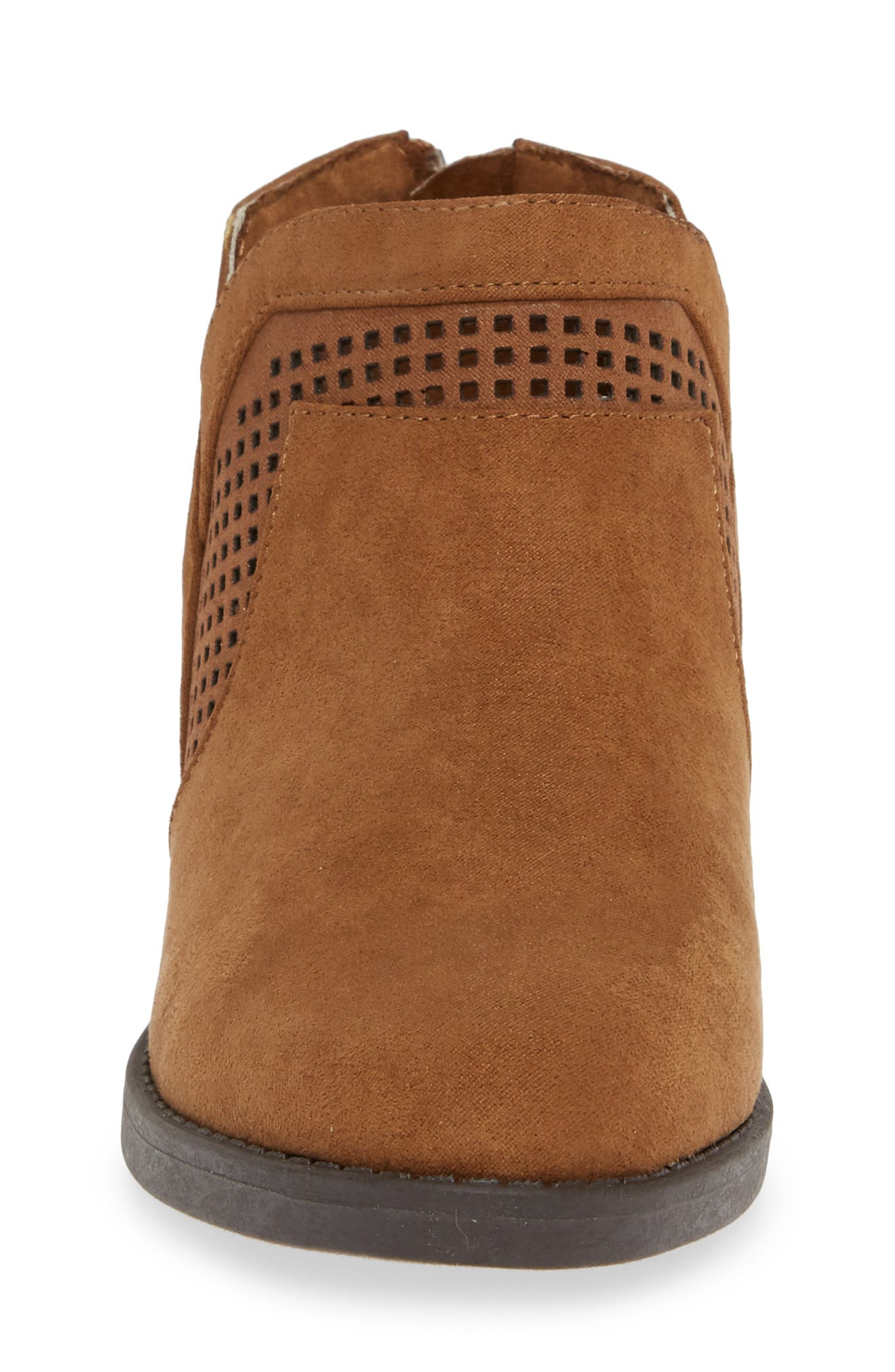 Wild Westy Perforated Bootie,                             Alternate thumbnail 4, color,                             206