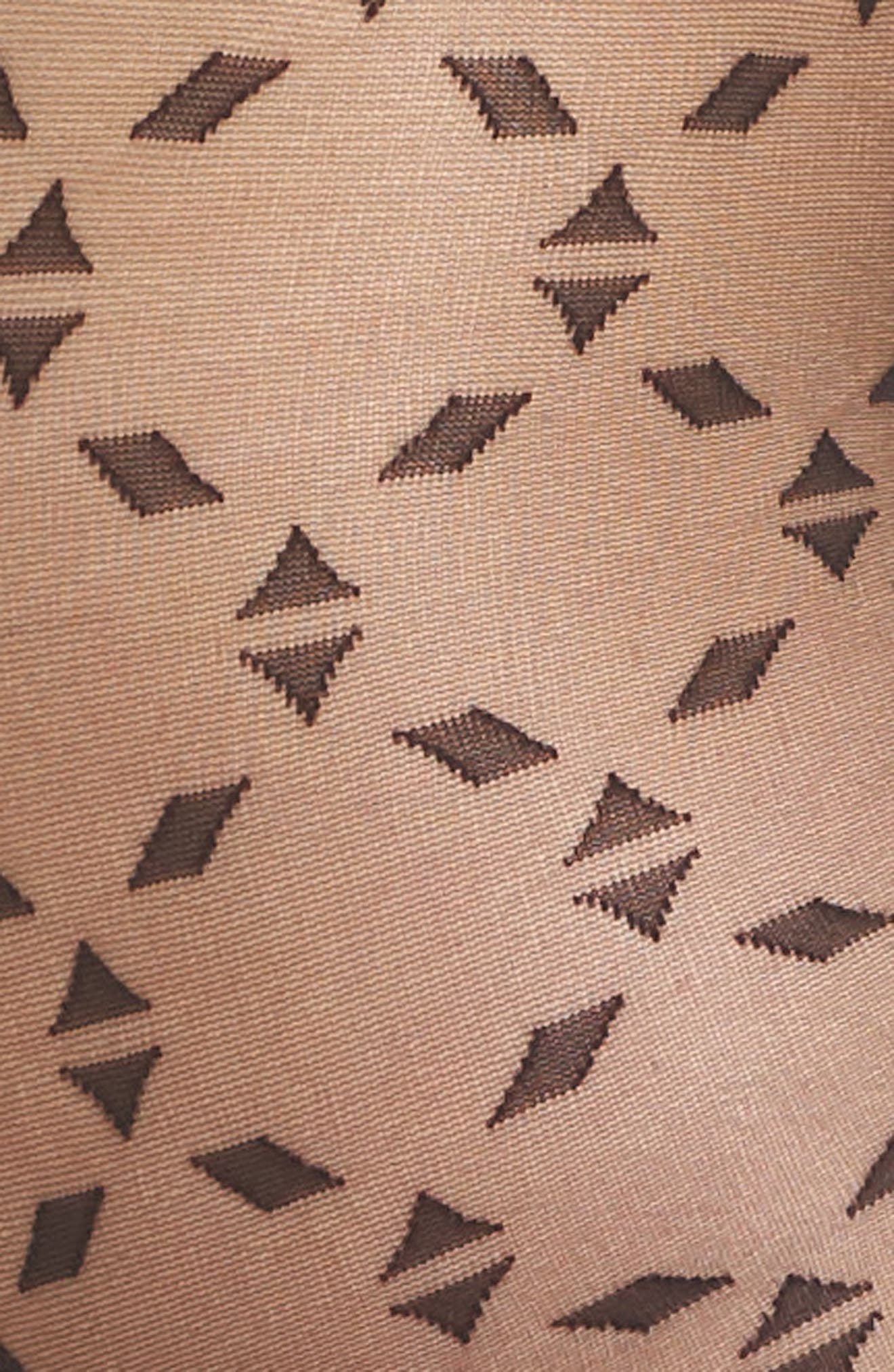 Graphic Puzzle Tights,                             Alternate thumbnail 2, color,                             001