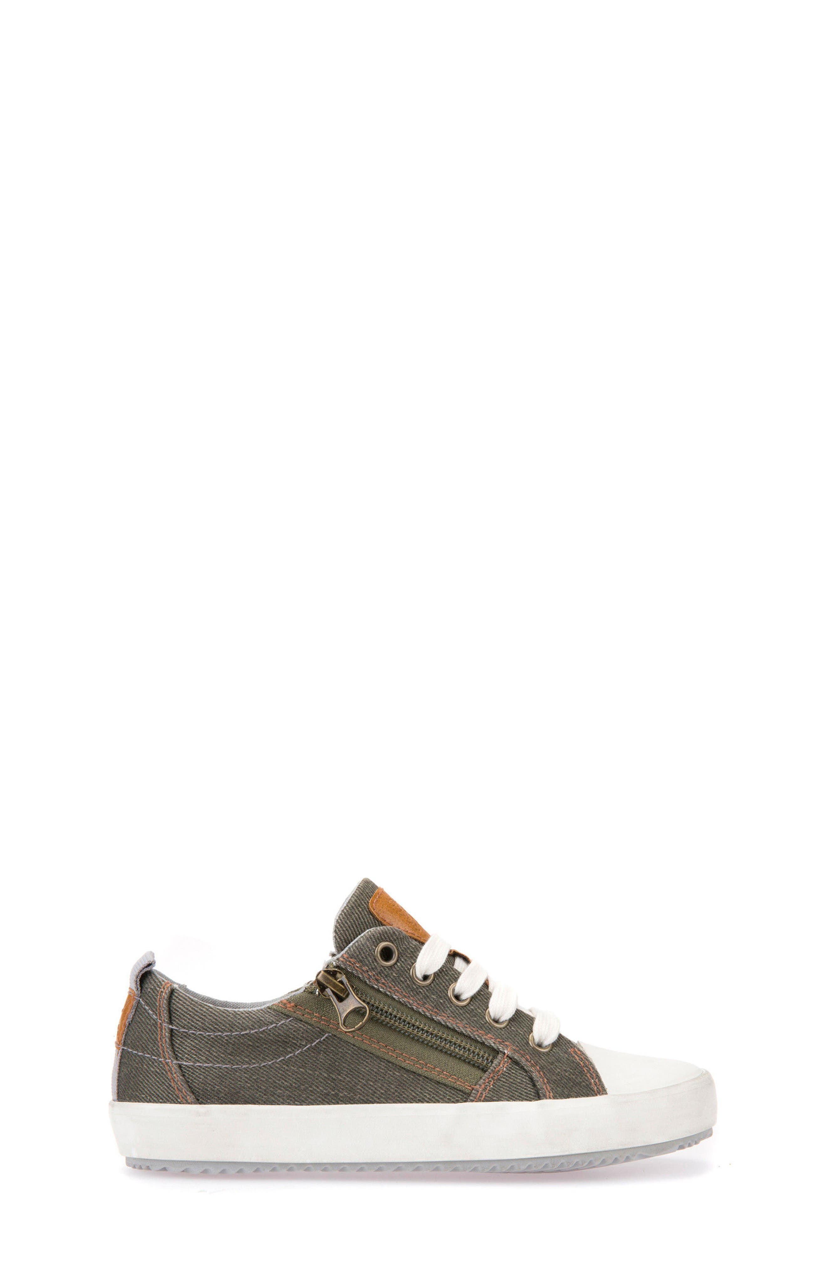 Alonisso Low Top Sneaker,                             Alternate thumbnail 3, color,                             MILITARY/ GREY