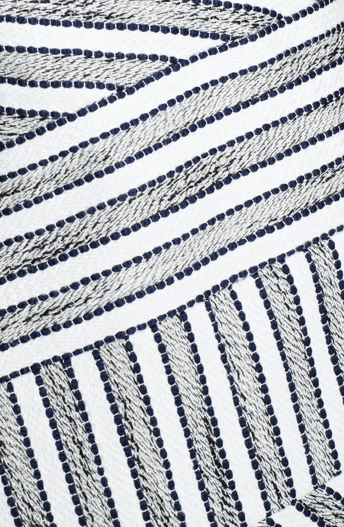 3.1 PHILLIP LIM,                             Chevron Detail Full Skirt Dress,                             Alternate thumbnail 2, color,                             111