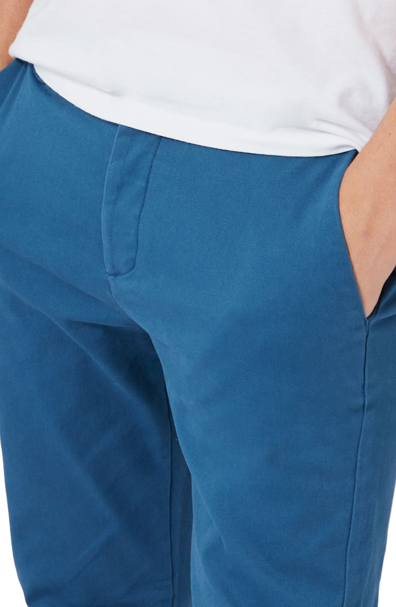 Skinny Fit Chinos,                             Alternate thumbnail 6, color,