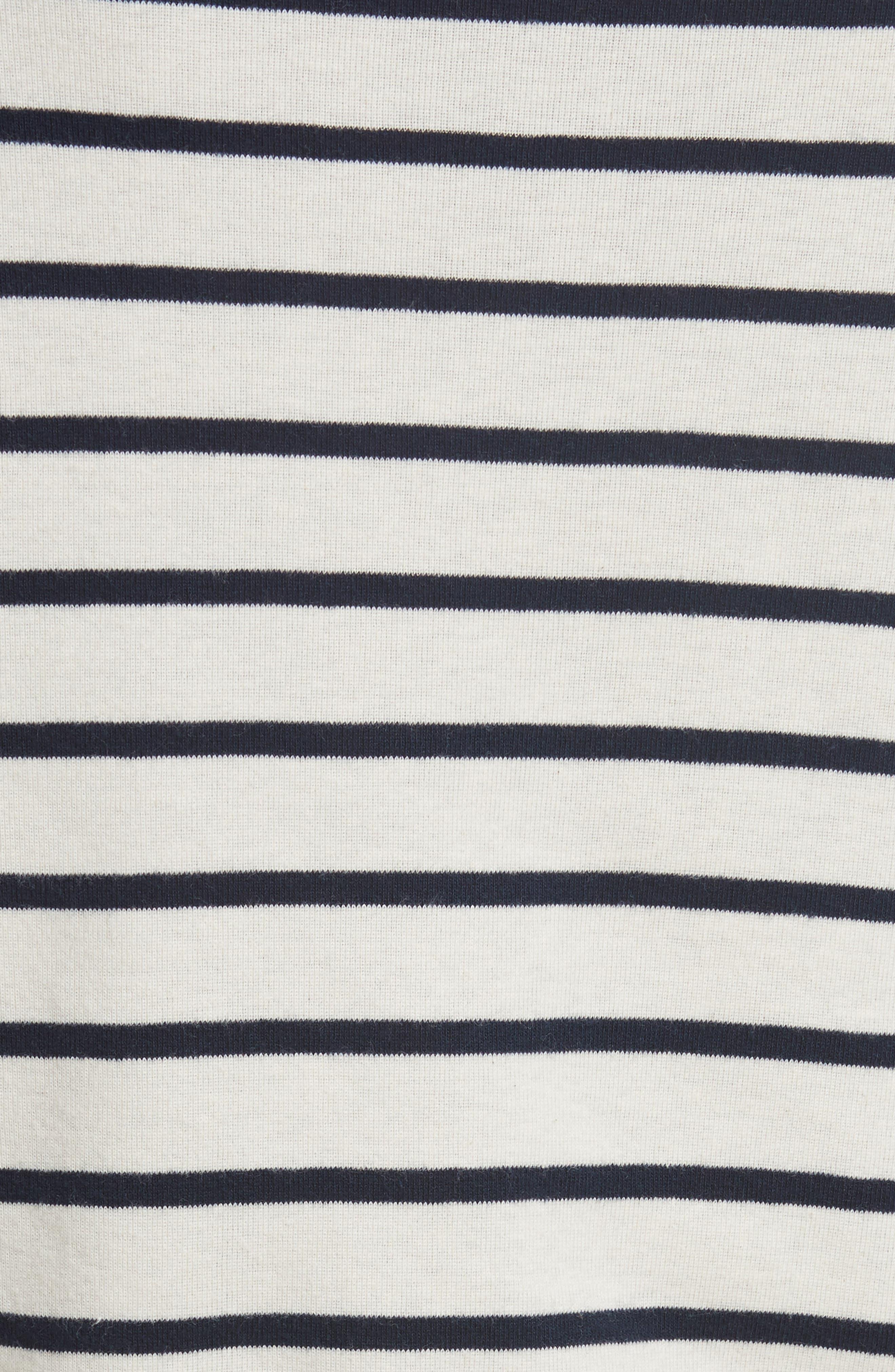 Audrey Stripe Turtleneck Top,                             Alternate thumbnail 5, color,                             903