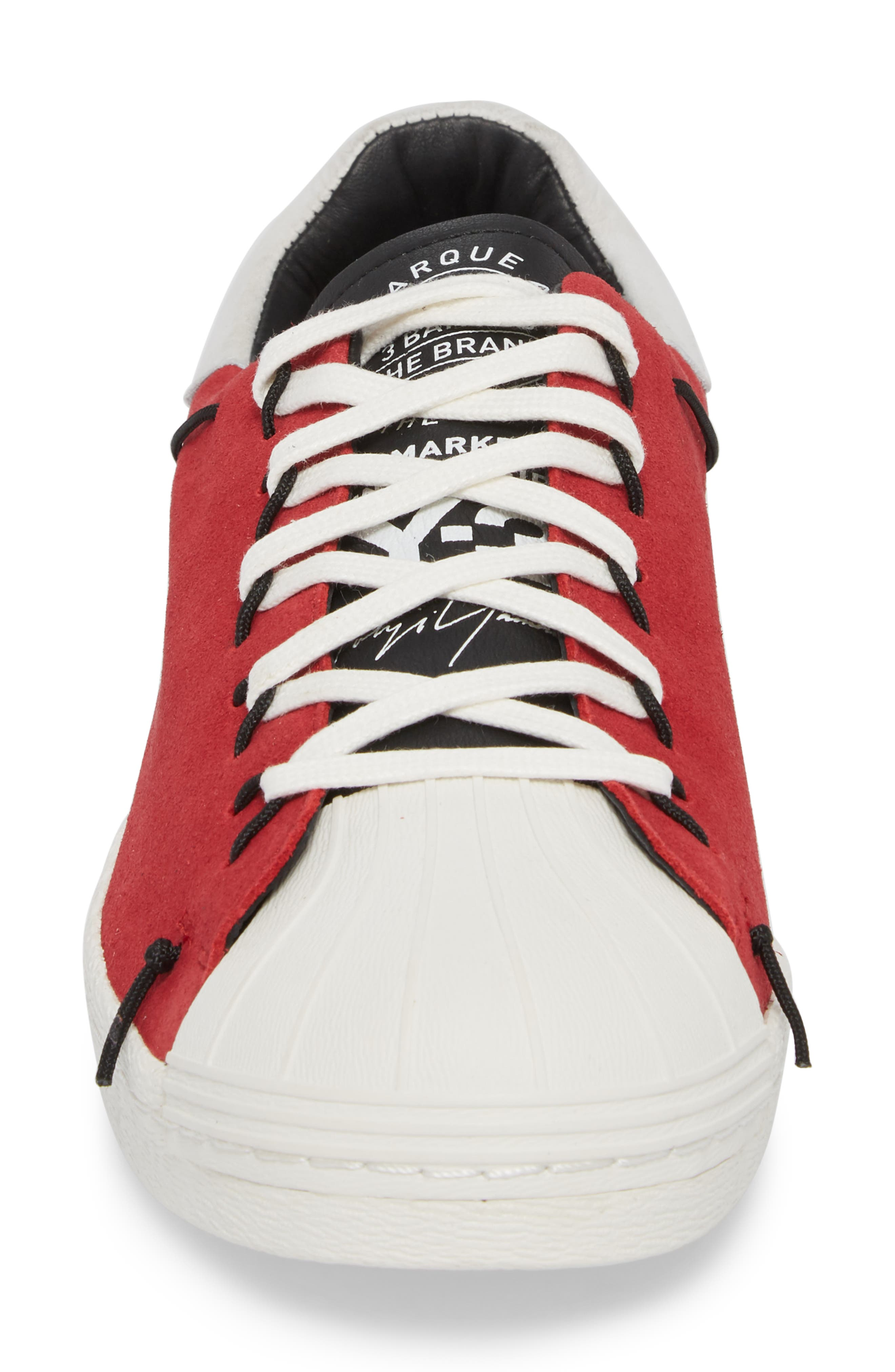 x adidas Super Knot Low Top Sneaker,                             Alternate thumbnail 4, color,                             602
