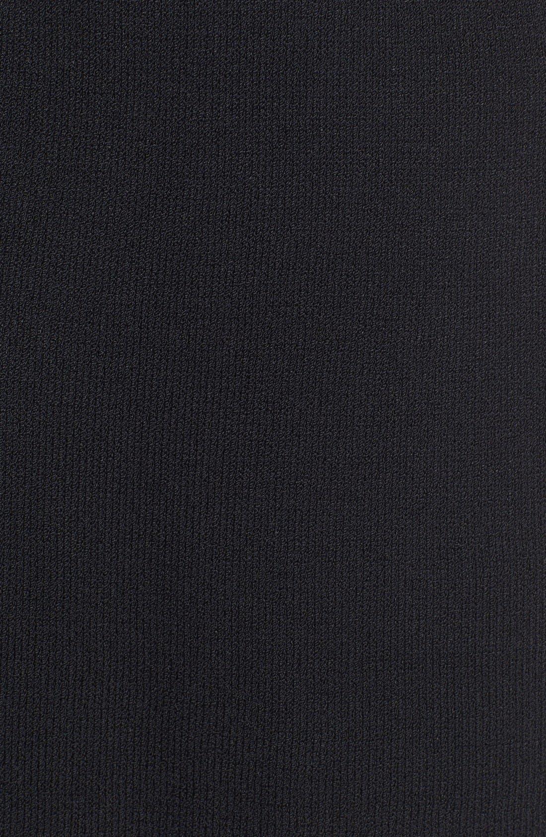 ST. JOHN COLLECTION,                             Santana Knit Skirt,                             Alternate thumbnail 5, color,                             001