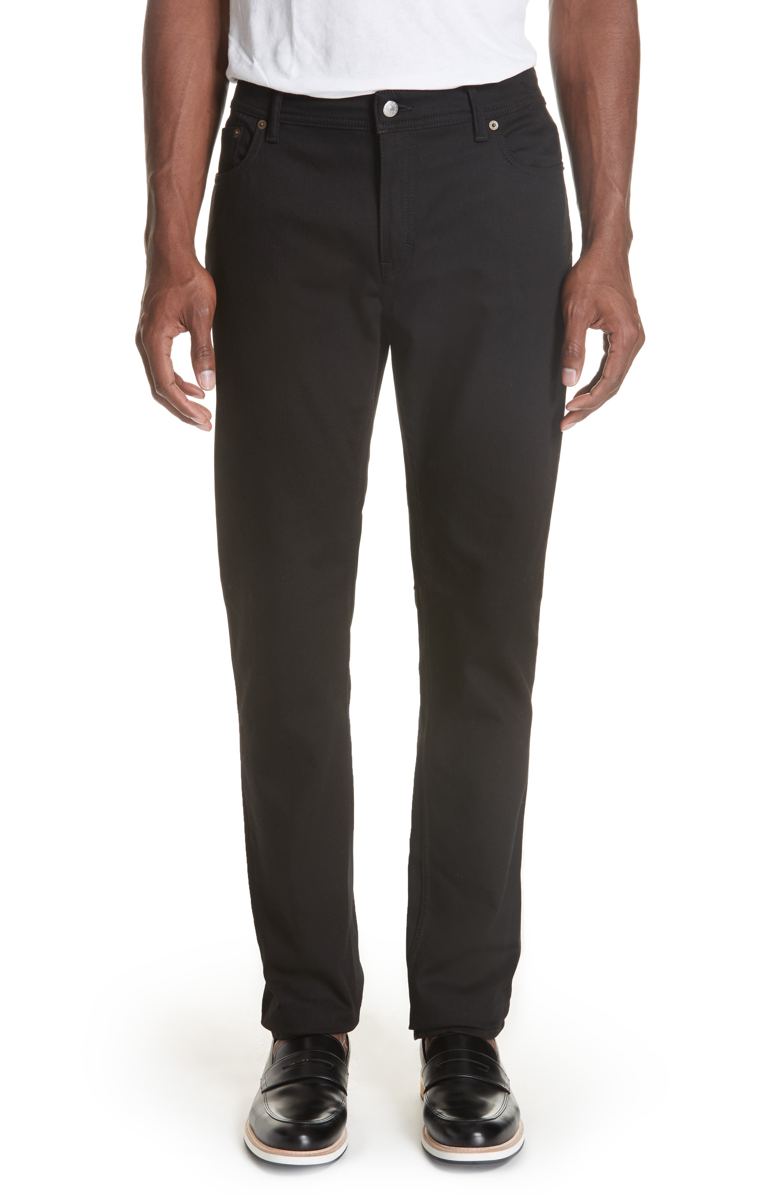 North Stay Slim Fit Jeans,                         Main,                         color, NORTH STAY BLACK
