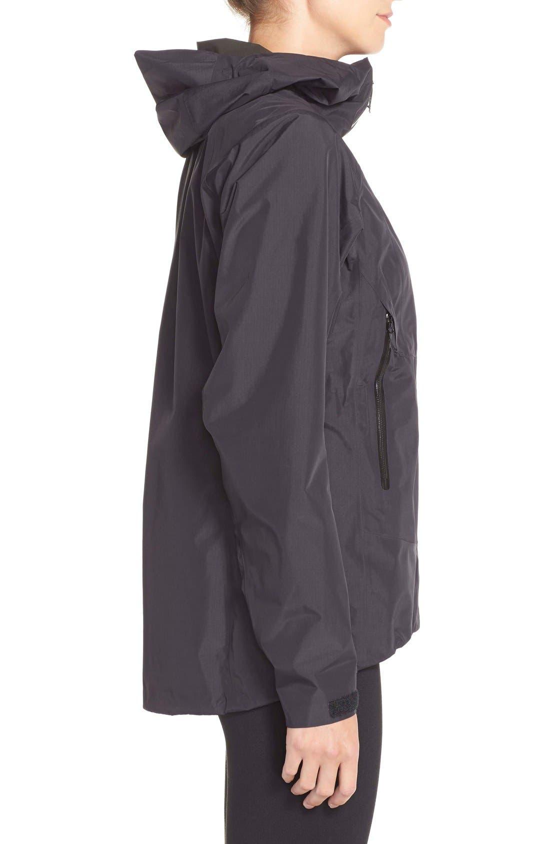 'Beta SL' Waterproof Jacket,                             Alternate thumbnail 3, color,                             001