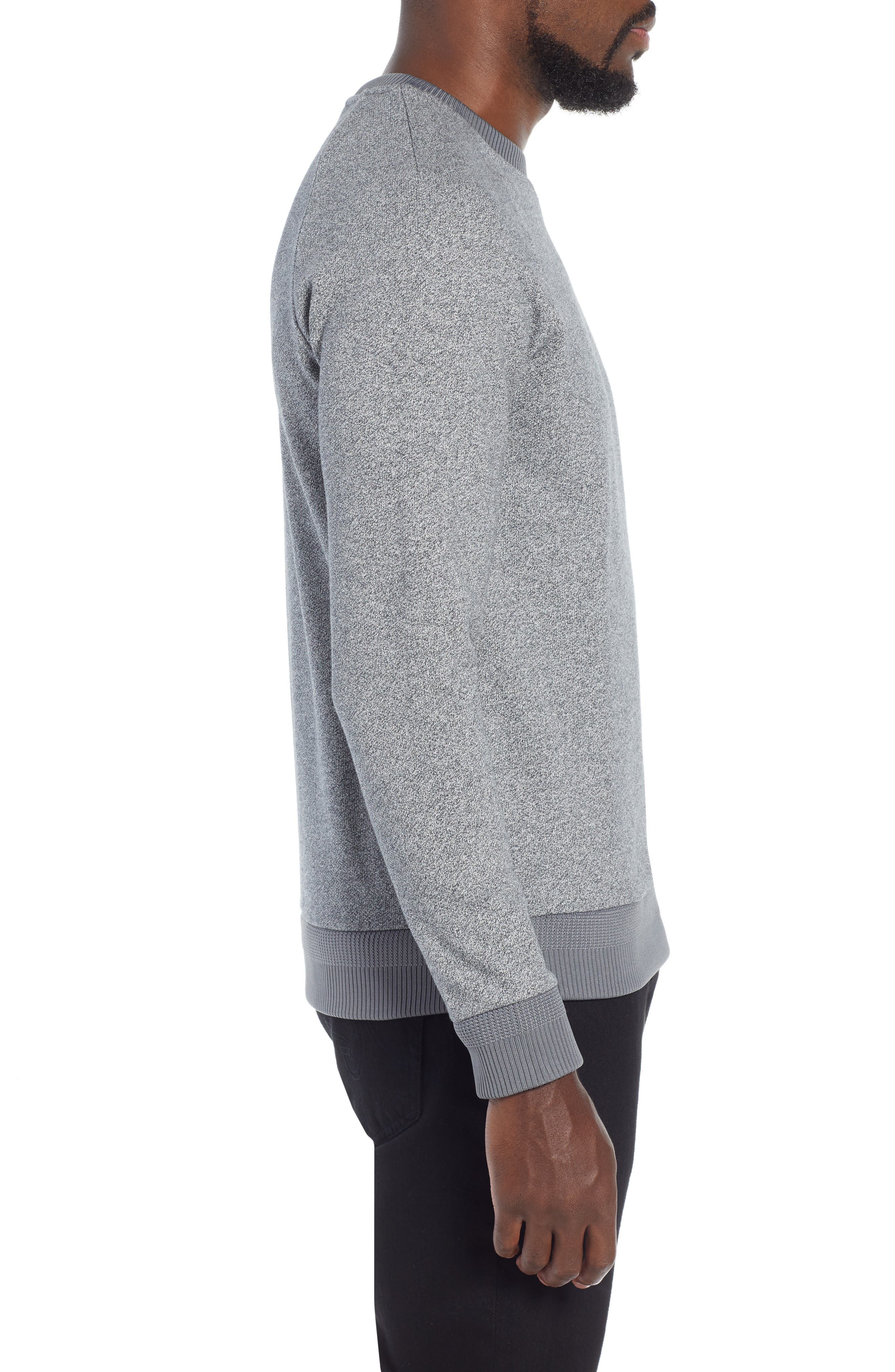 Stadler Denimic Regular Fit Sweatshirt,                             Alternate thumbnail 3, color,                             GREY