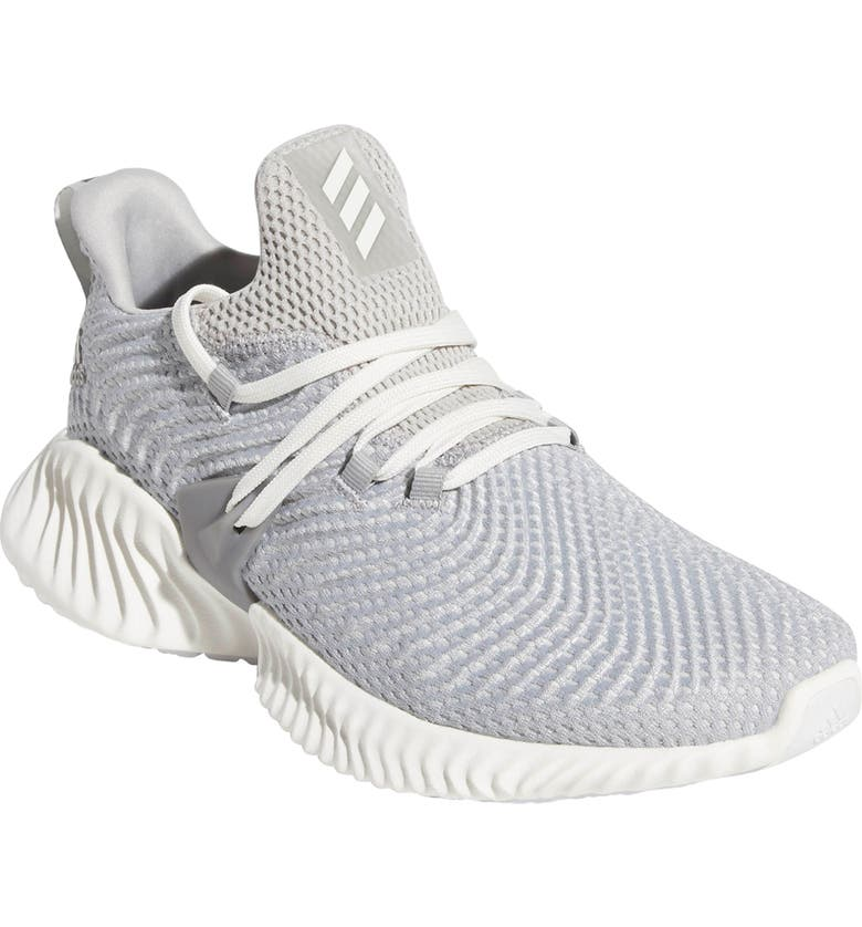 buy popular ac9de 77f7d ADIDAS AlphaBounce Instinct Sneaker, Main, color, GREY TWO CLOUD WHITE  GREY