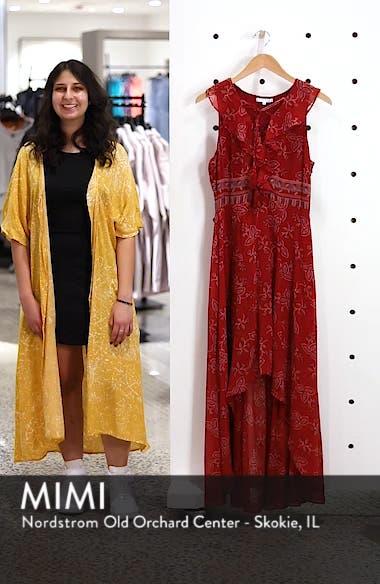 Print High/Low Maxi Dress, sales video thumbnail