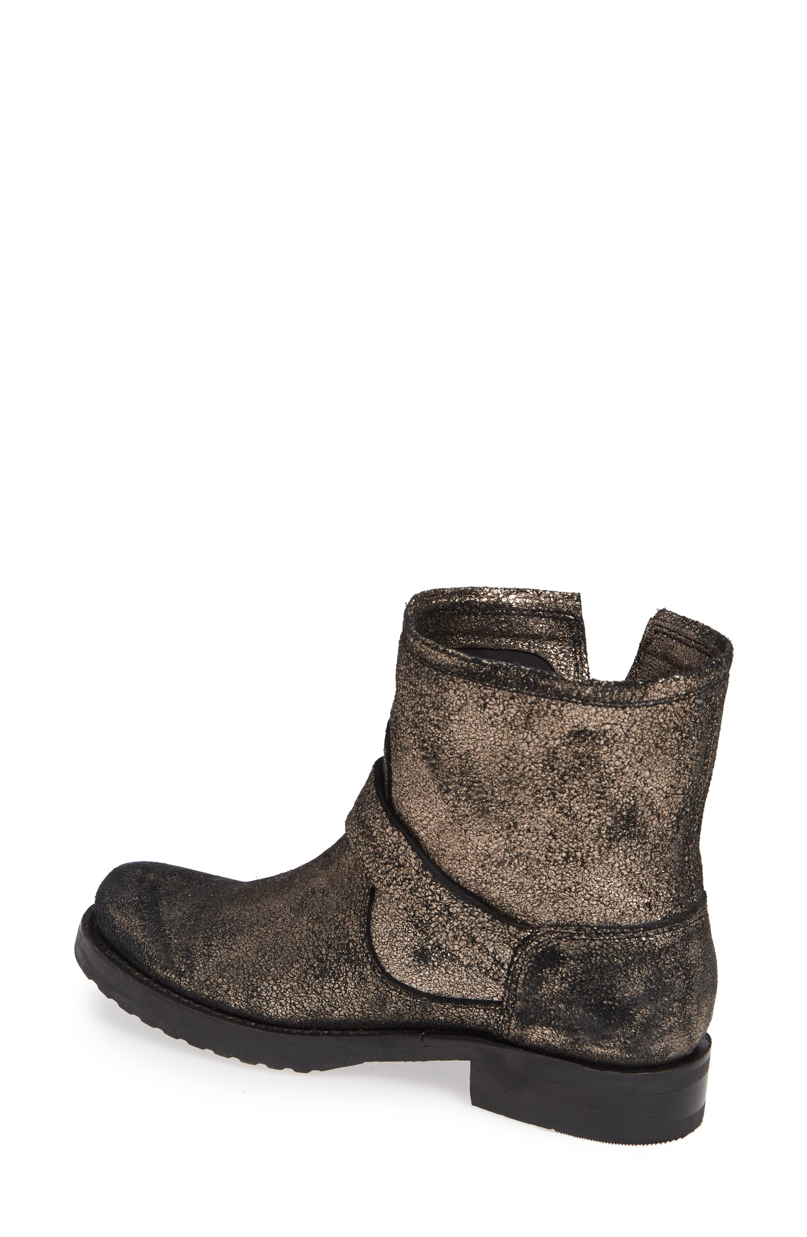 Veronica Bootie,                             Alternate thumbnail 2, color,                             GOLD LEATHER