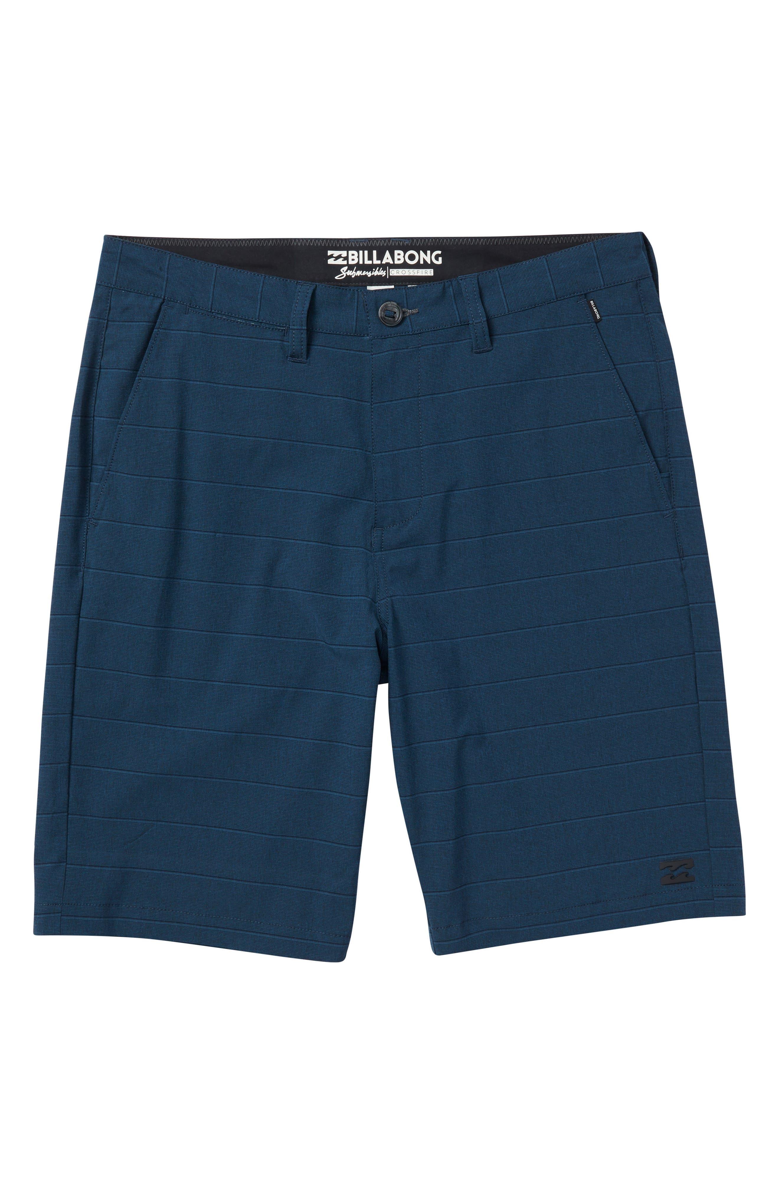 Crossfire X Stripe Hybrid Shorts,                             Main thumbnail 2, color,