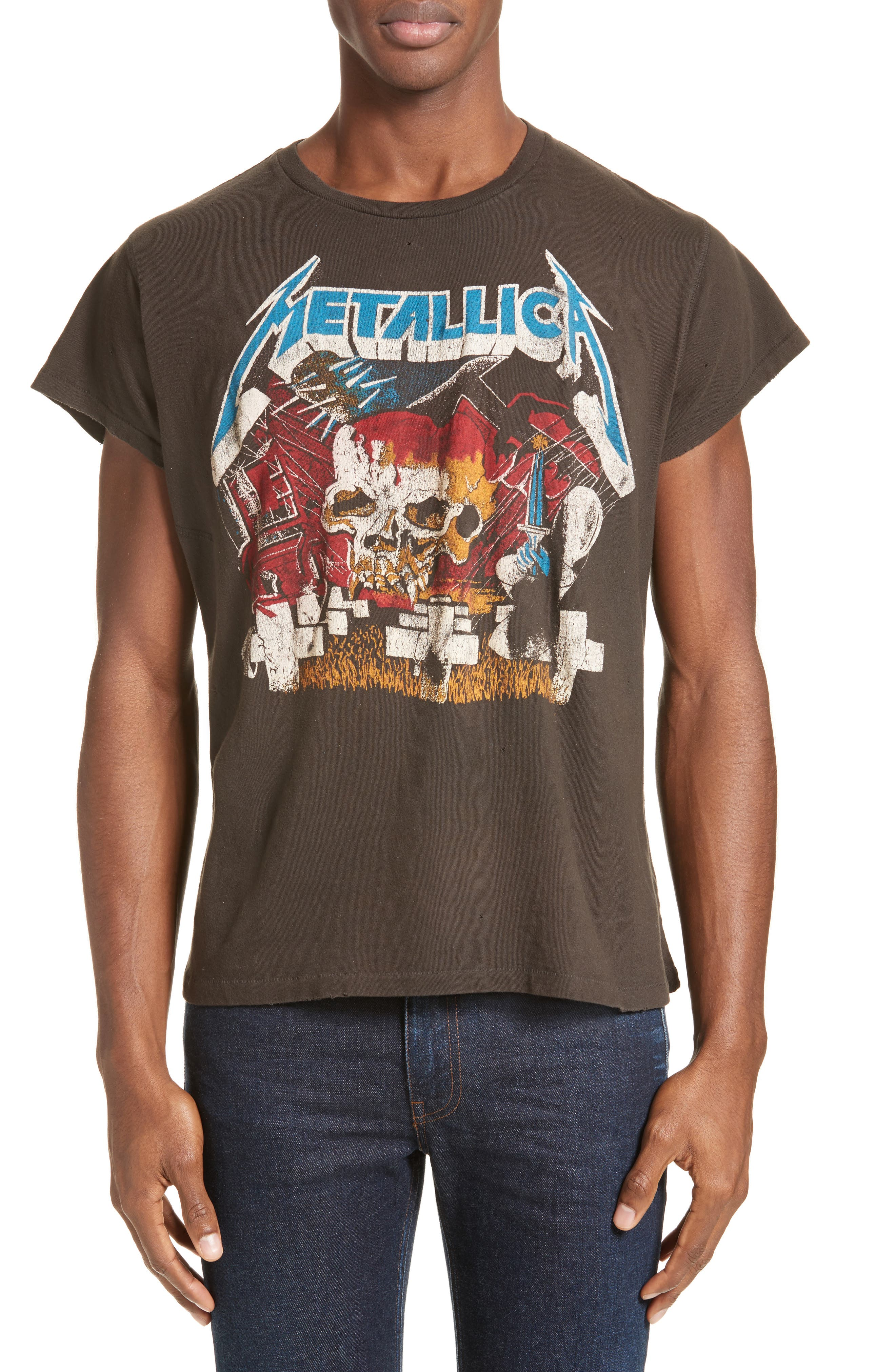 Metallica Graphic T-Shirt, Main, color, 001