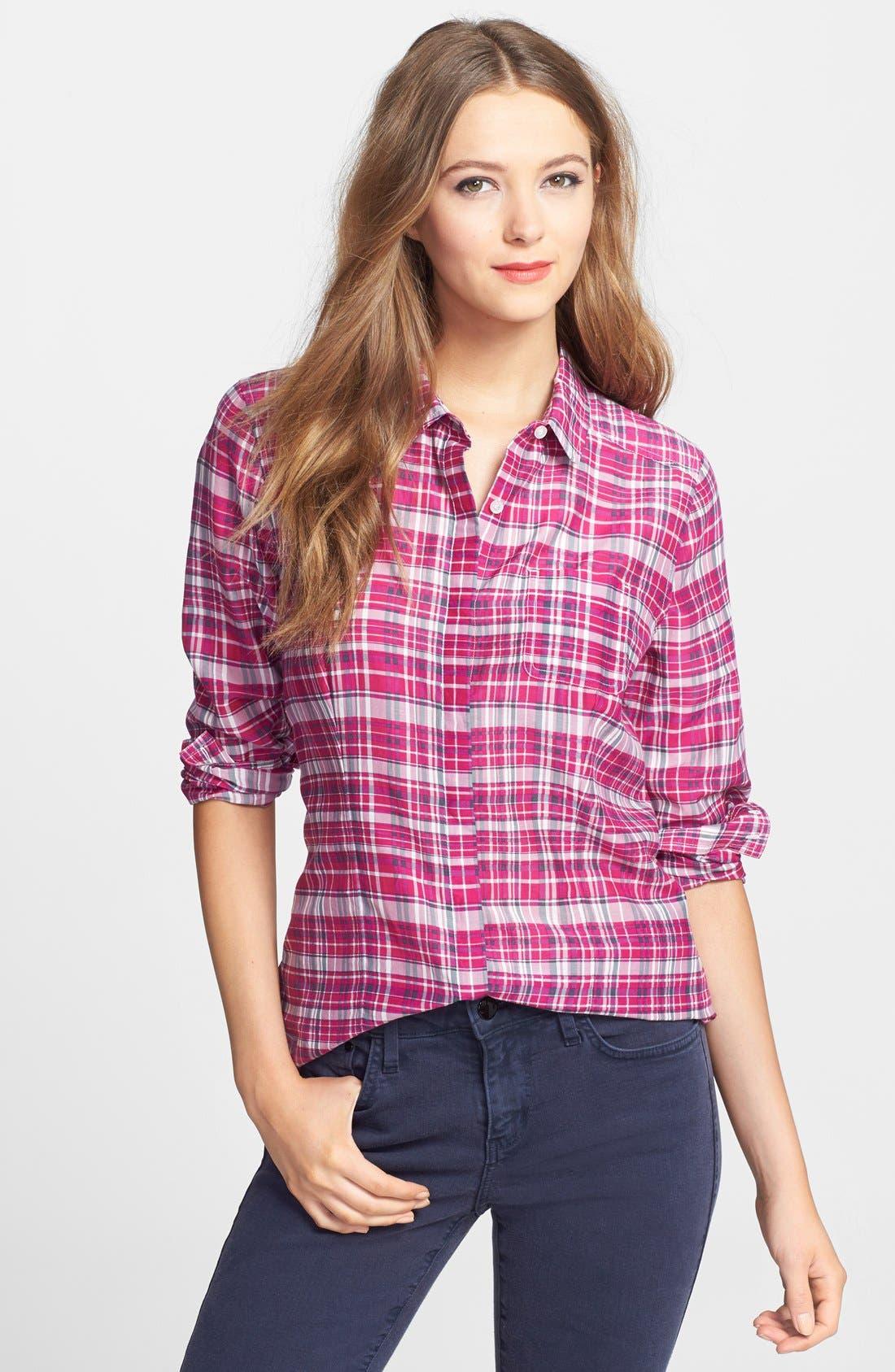 Cotton & Silk Shirt,                             Main thumbnail 35, color,